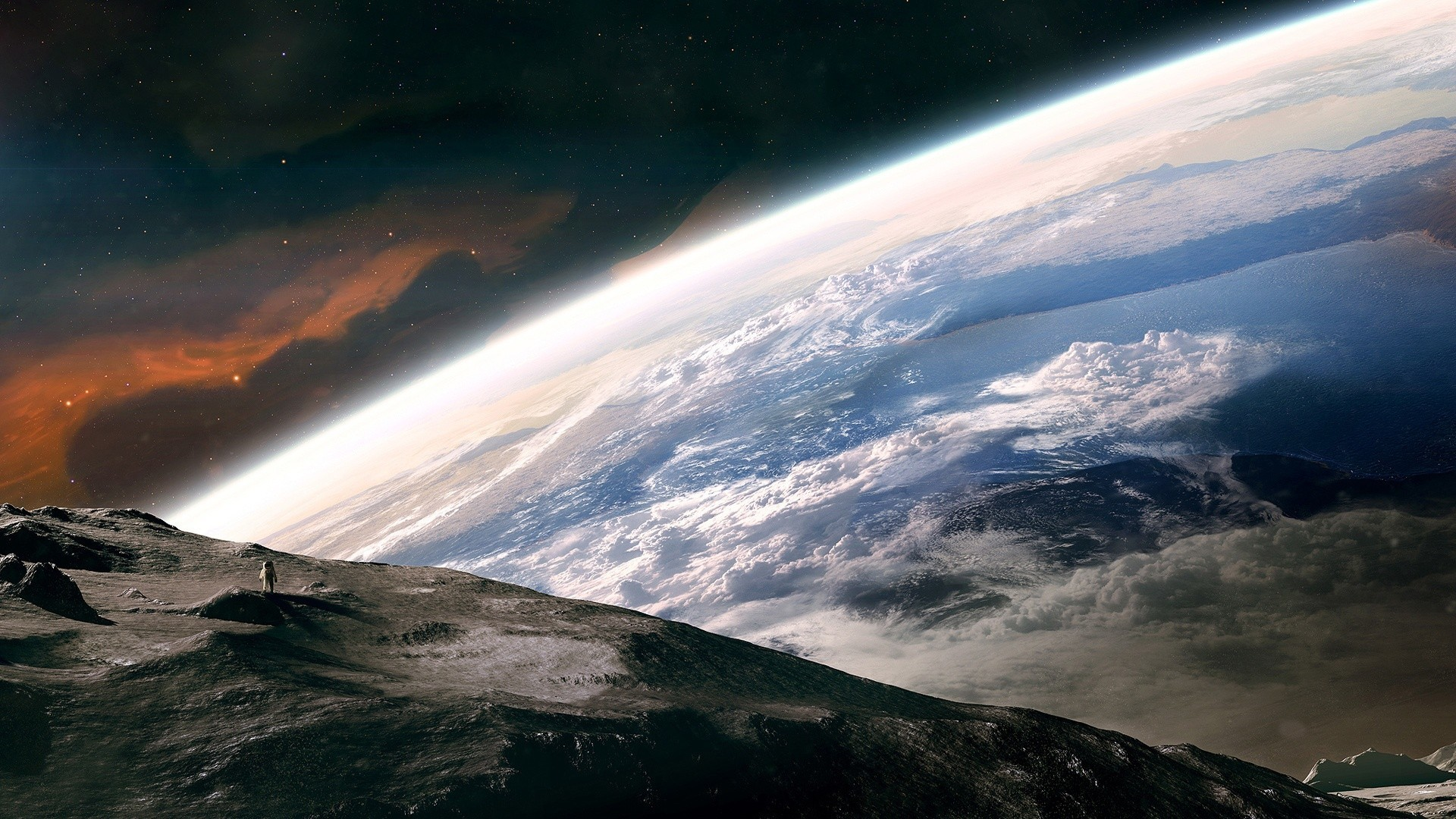 Outer Space Wallpaper Outer, Space, Earth, Astronauts … Desktop  WallpapersHd …