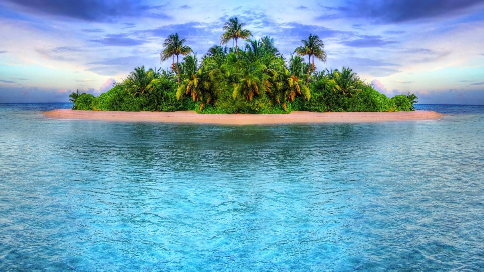 Tropical Island desktop PC and Mac wallpaper