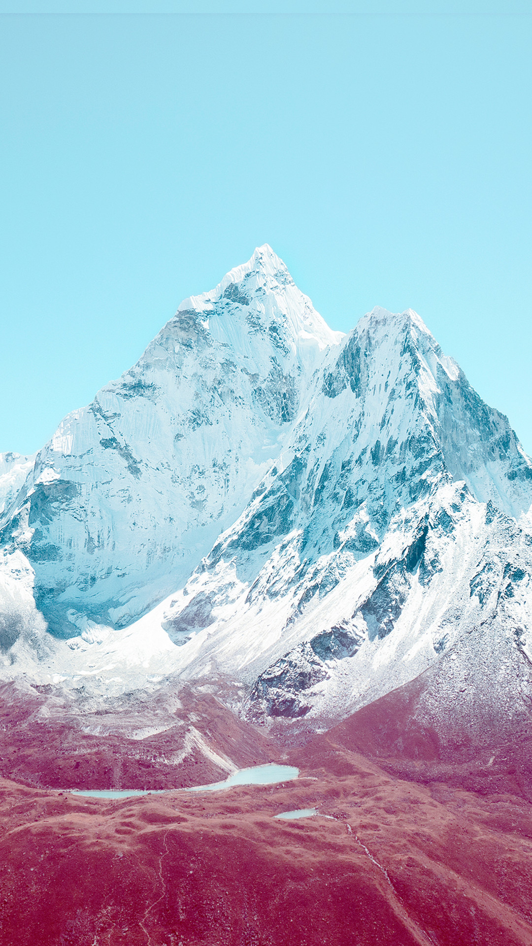 iOS 7 Mountains HTC hd wallpaper – Best htc one wallpapers