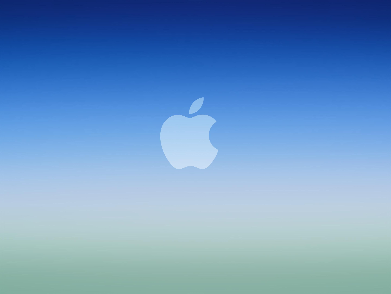 blue-ios-gradient-apple-logowallpaper