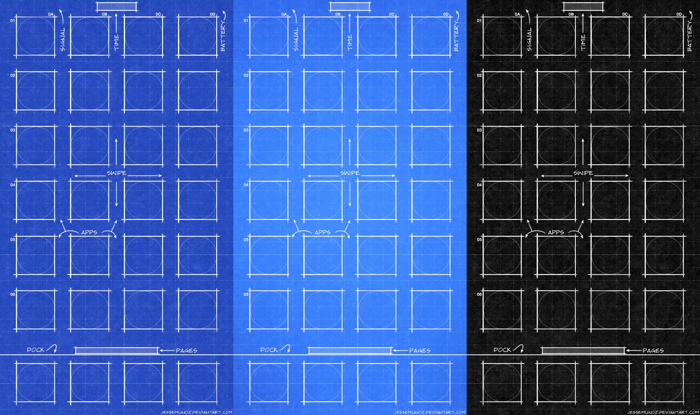 iPhone iOS10 Blueprint Wallpaper by jessemunoz iPhone iOS10 Blueprint  Wallpaper by jessemunoz