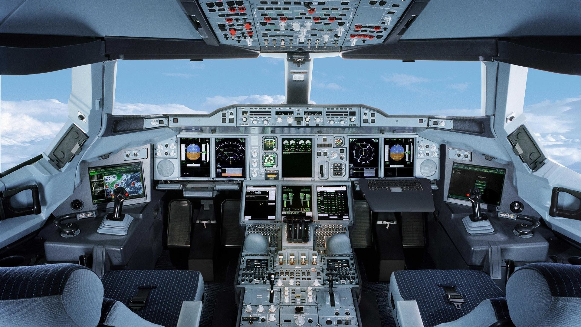 Airplane Cockpit Wallpaper – Viewing Gallery