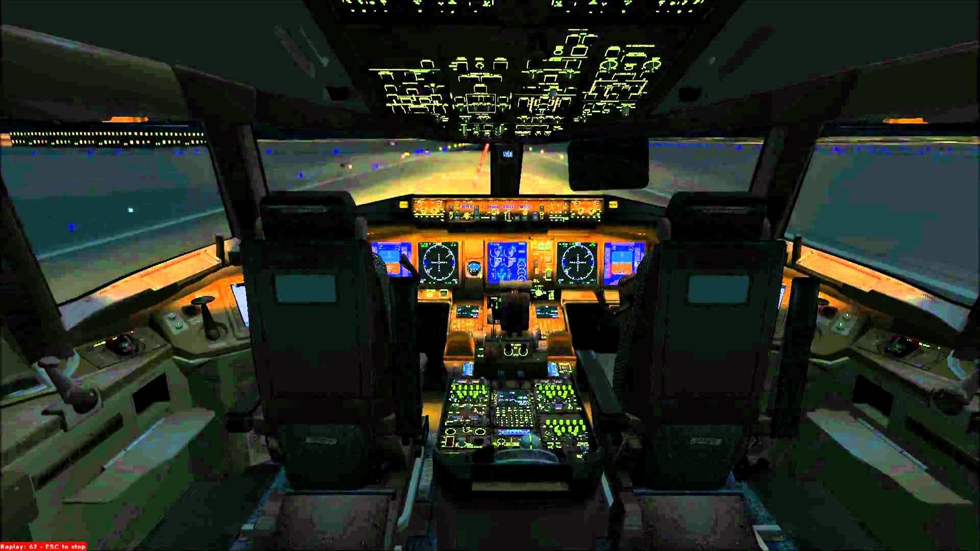 [HD] B777 cockpit landing Delhi ✈ – YouTube