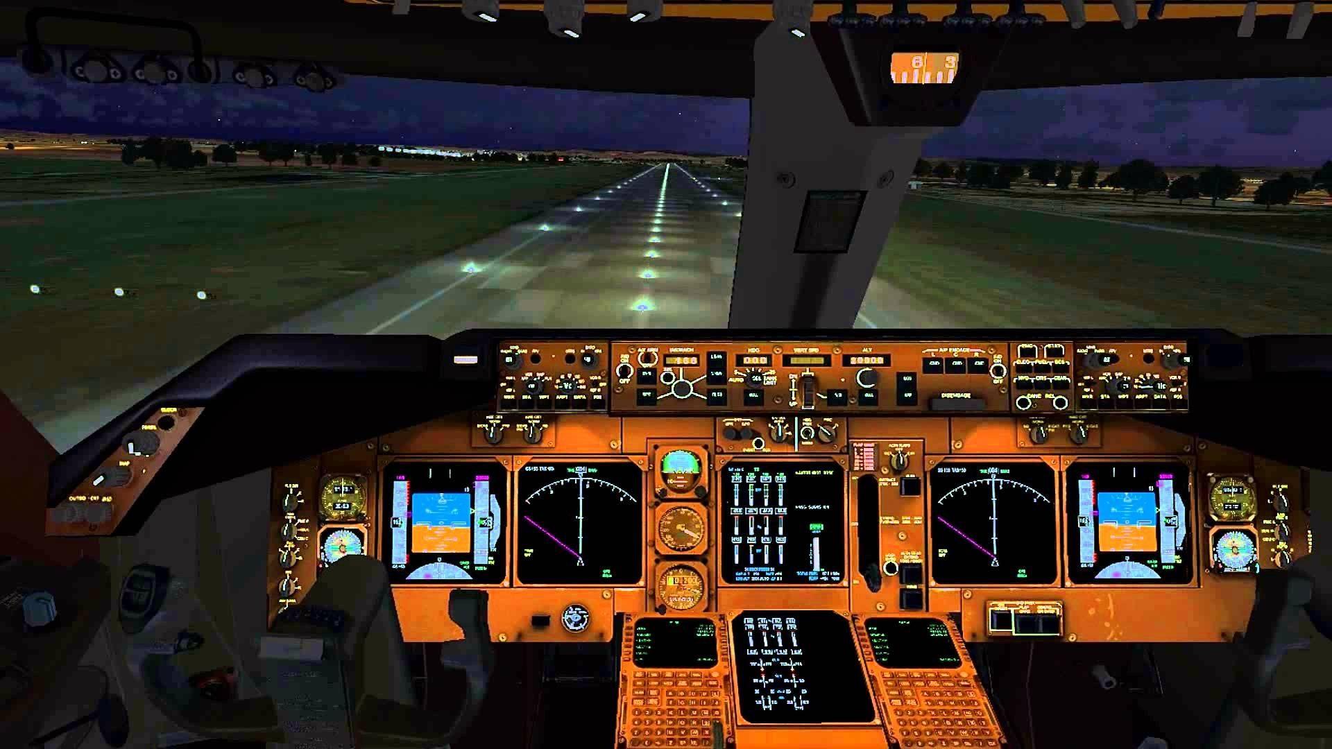 Boeing 747 Cockpit Wallpaper Desktop Wallppapers Gallery