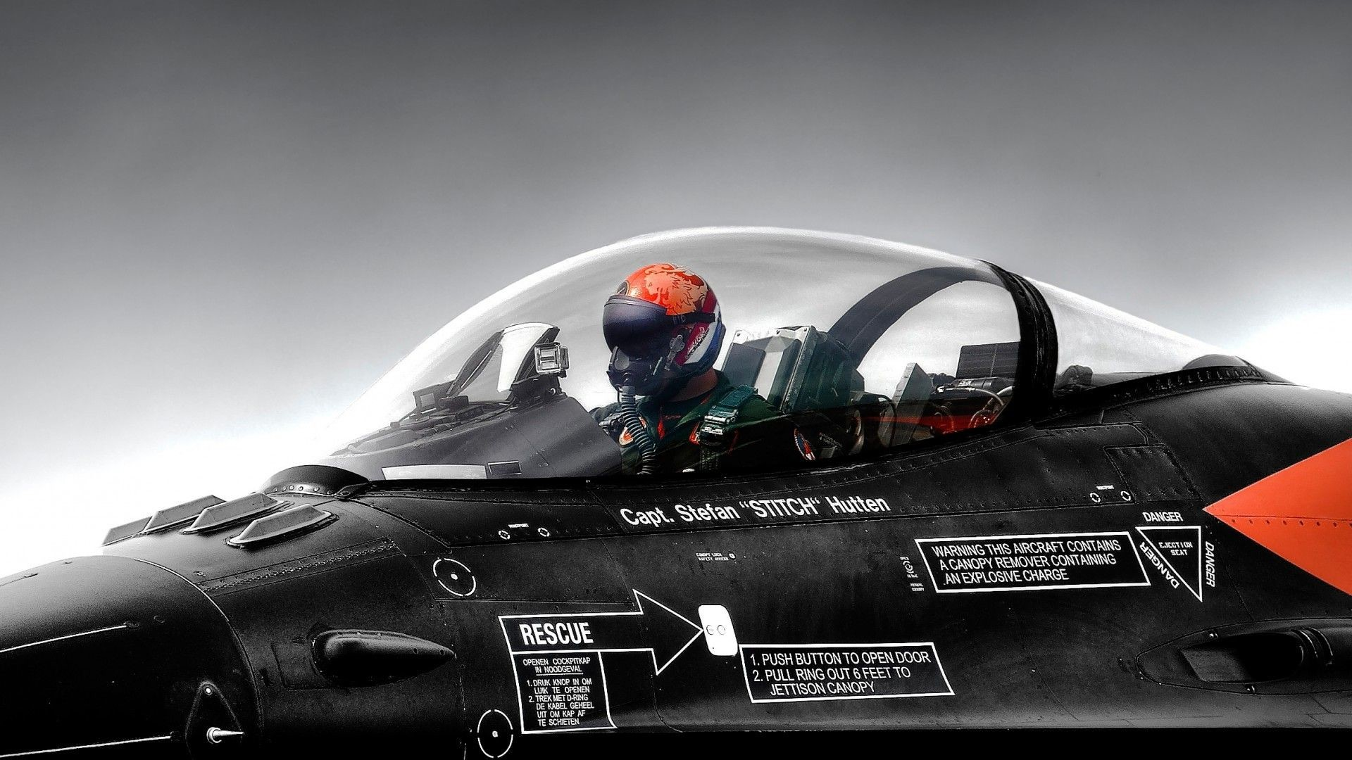 The pilot in the cockpit wallpapers and images – wallpapers .