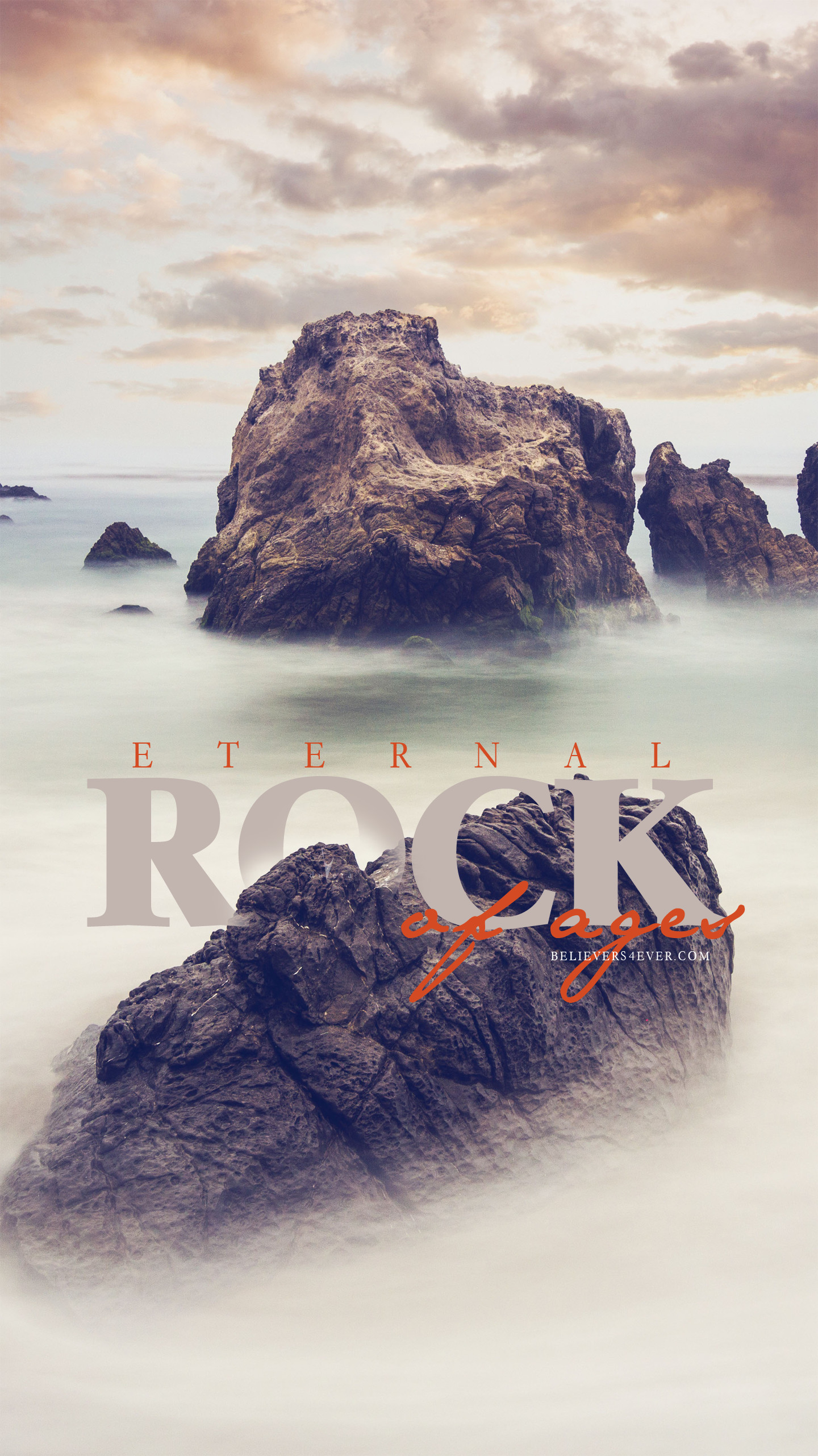 Eternal rock of ages #Christian mobile #phone #wallpaper for android  devices, ipnone