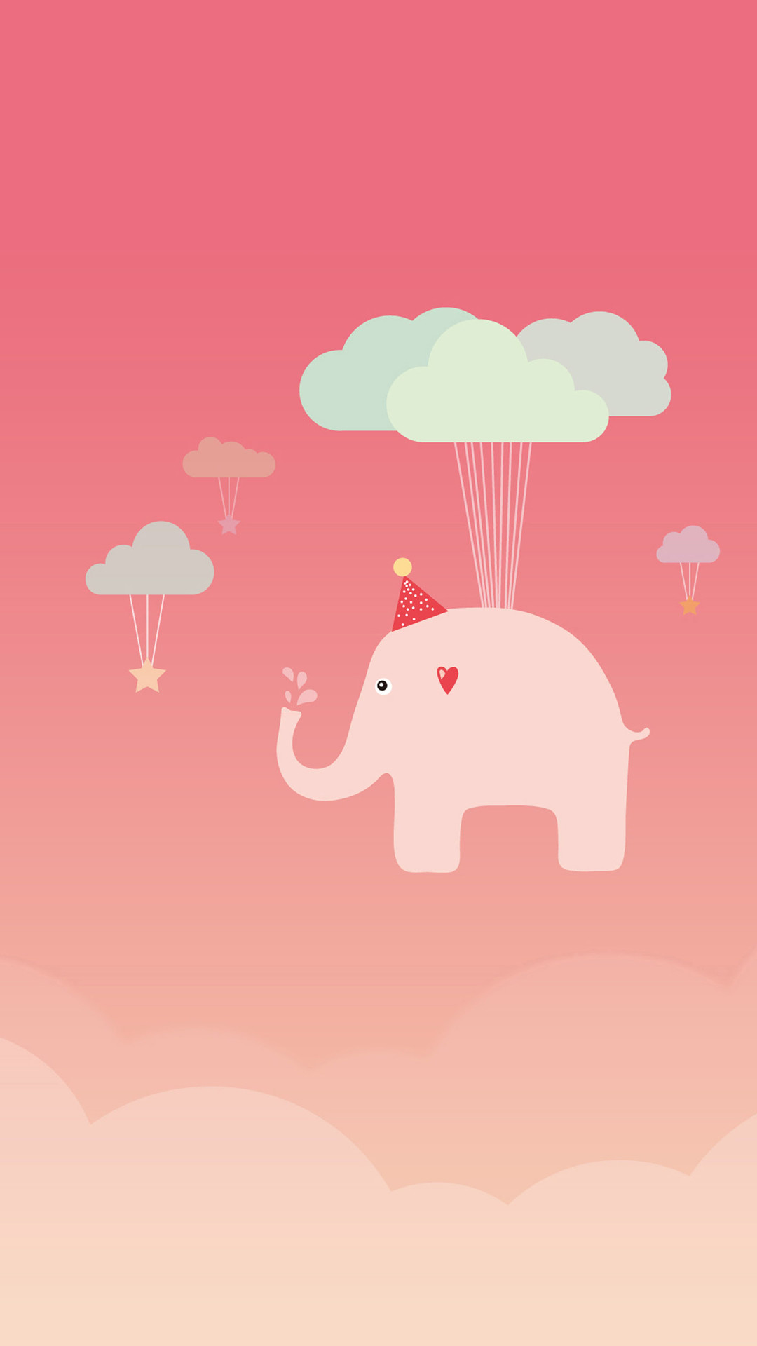 Cute Elephant iPhone 6 Wallpaper Download | iPhone Wallpapers, iPad .
