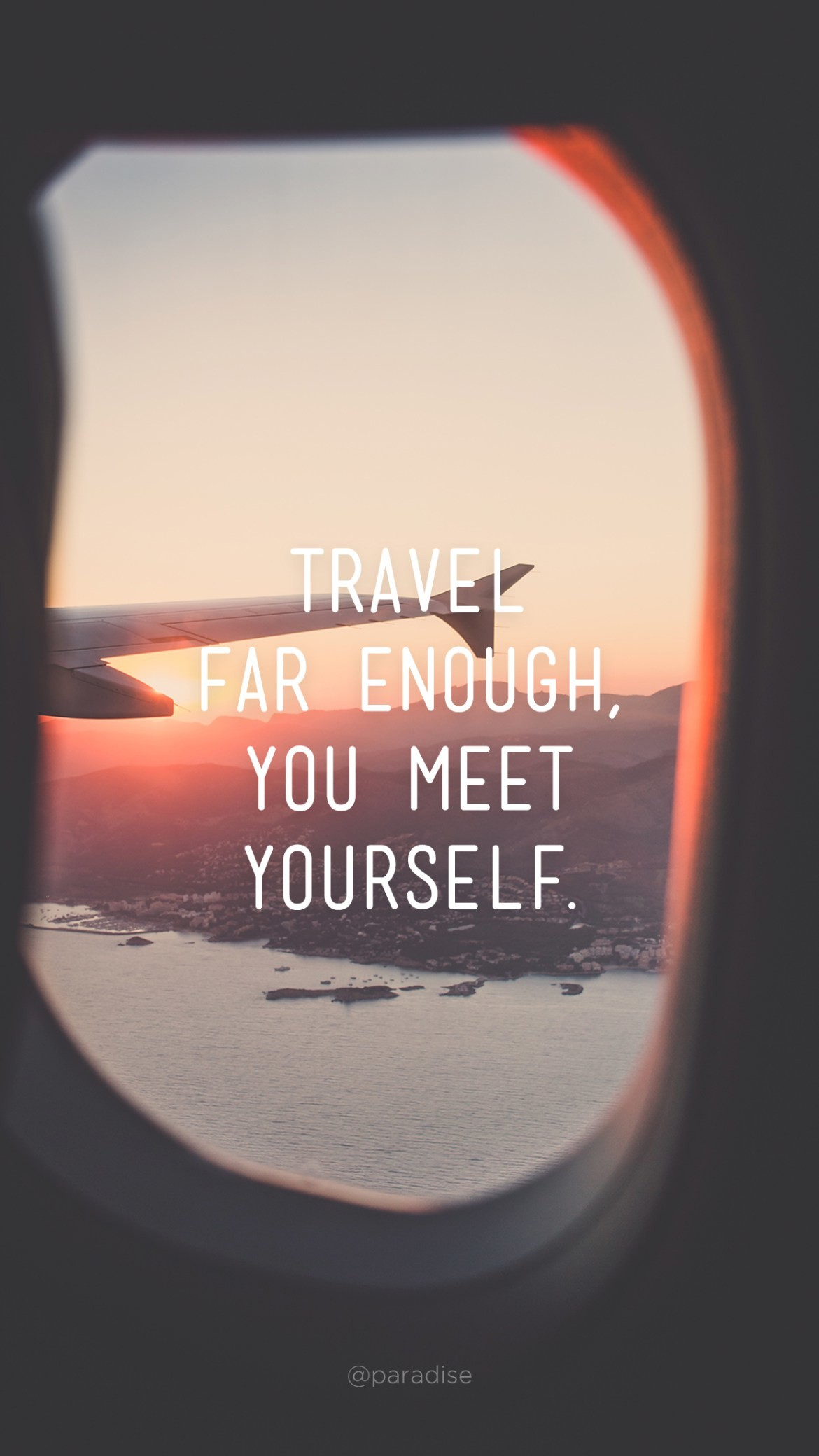 15 Beautiful iPhone Wallpapers with Travel Quotes | Via Paradise