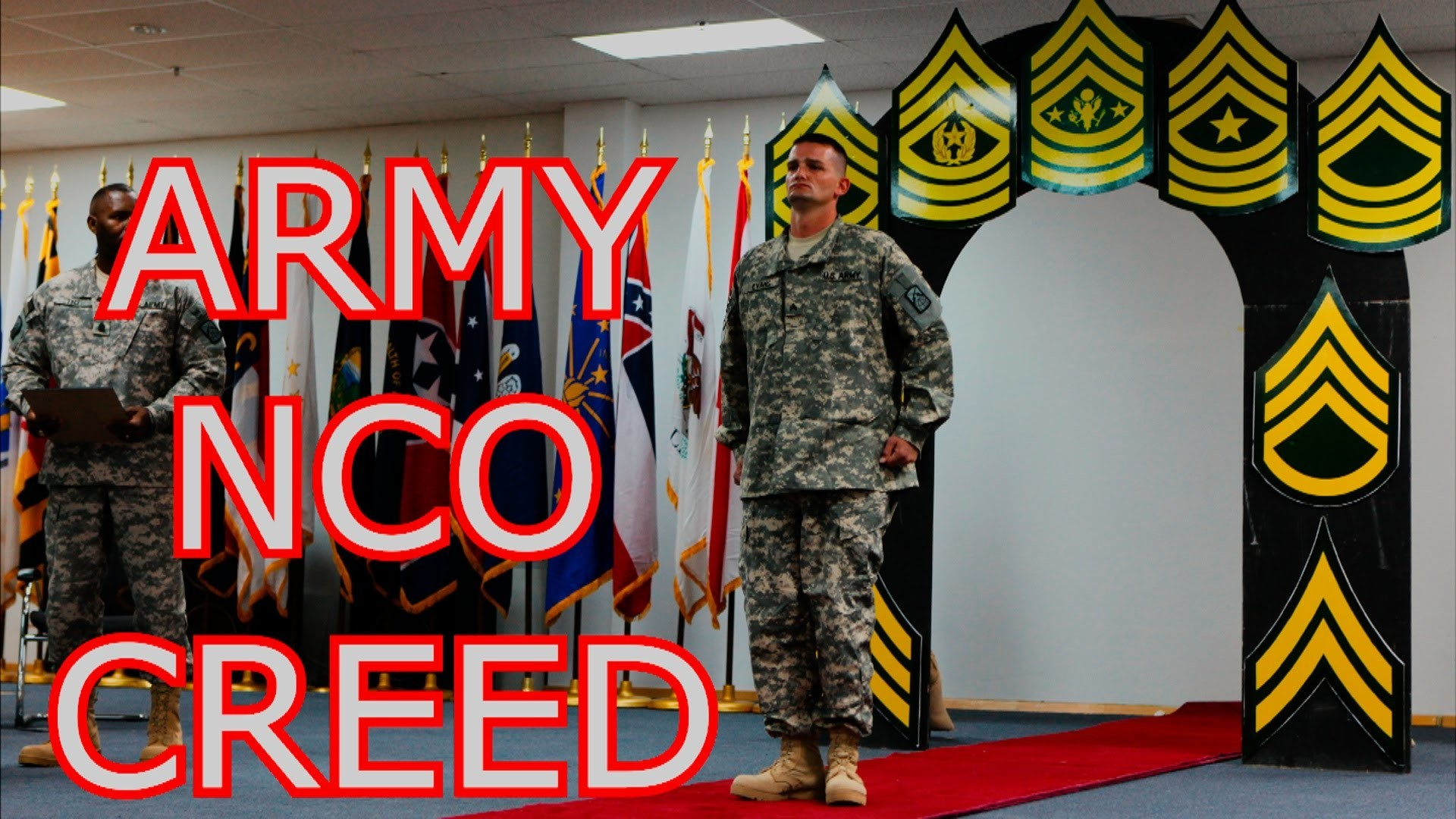 Life of a U.S. Army Soldier – THE NCO CREED   CREED OF THE NONCOMMISIONED  OFFICER   US ARMY