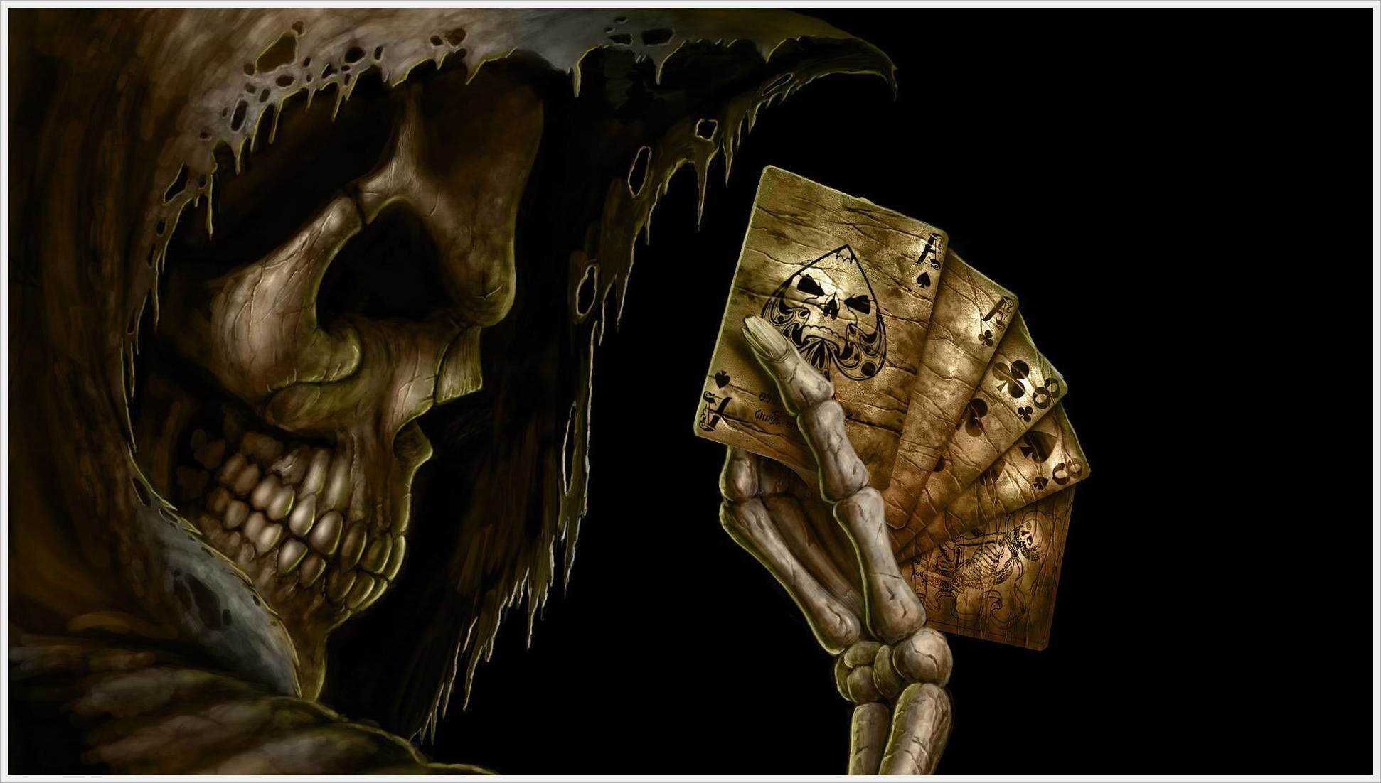 Animated Horror Skull | HD Wallpapers Images