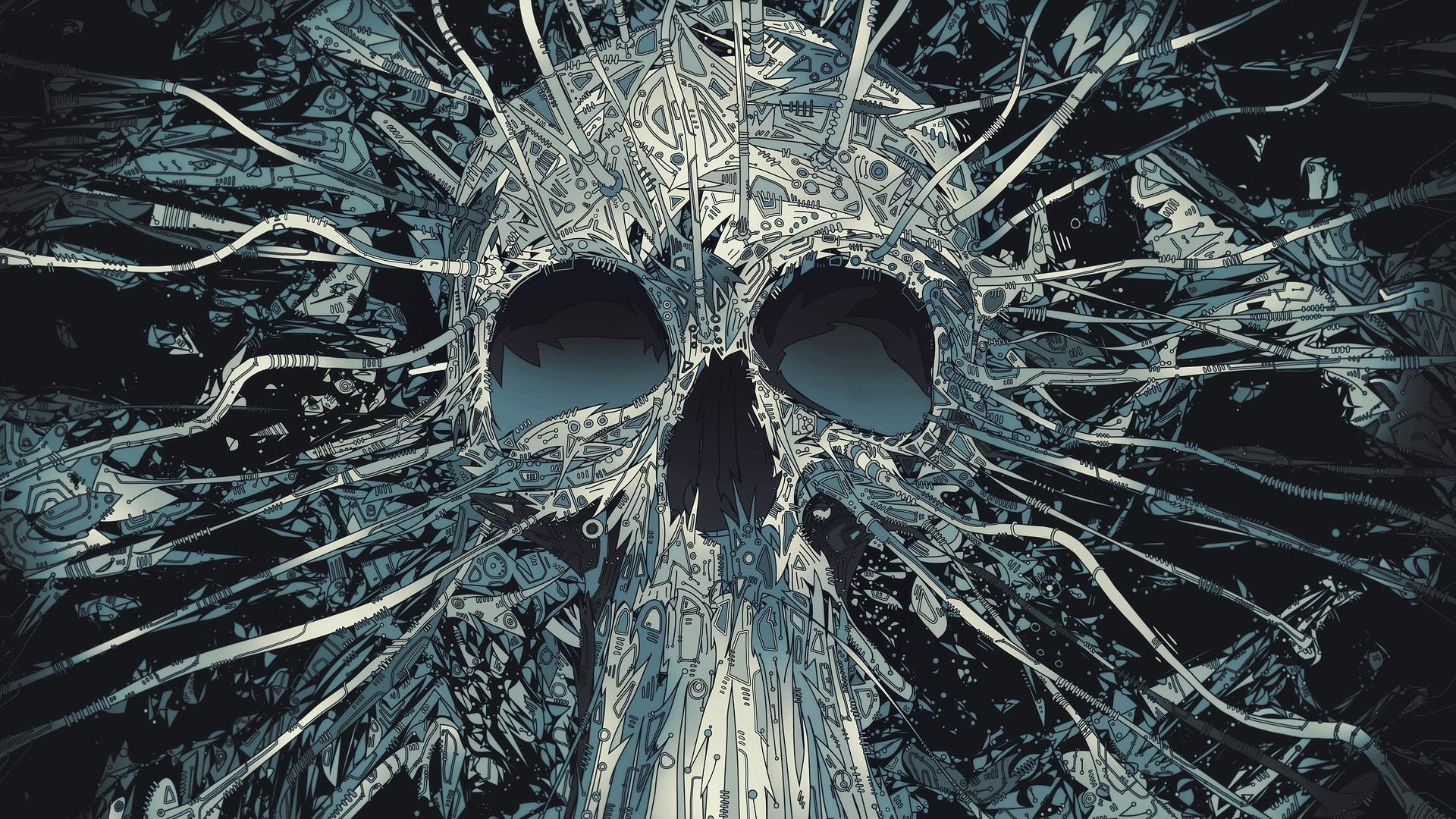 skull wallpaper for mobile. Â«Â«