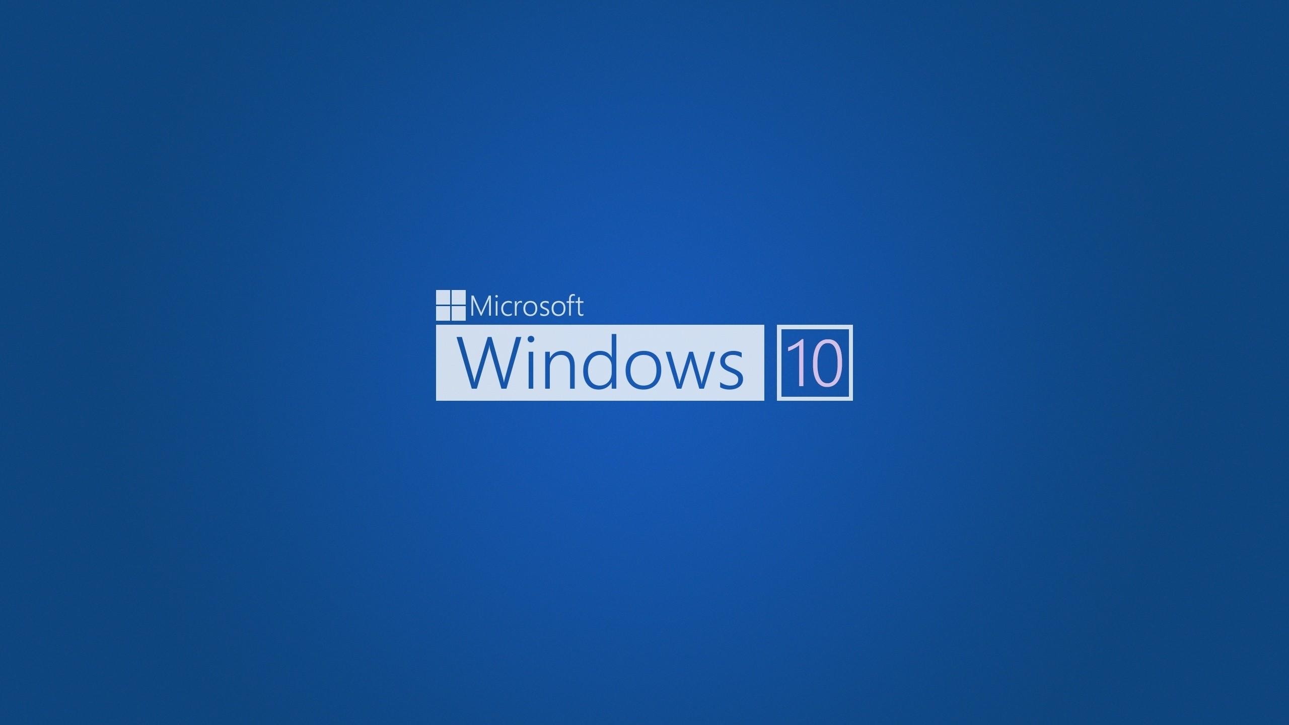 Blue Windows 10