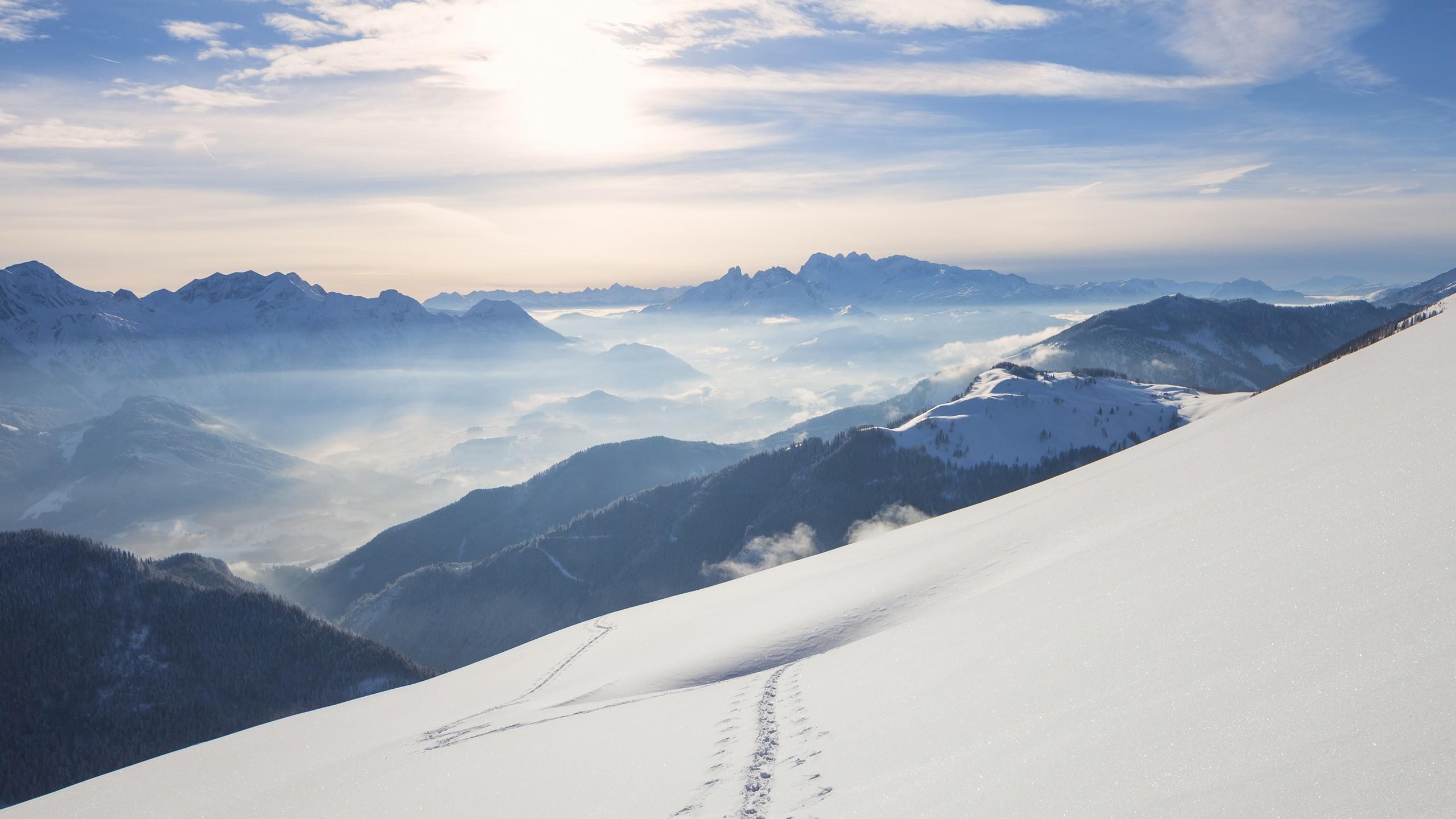 … x 1440 Original. Description: Download Snow Mountains Windows 10 Nature  & Landscape wallpaper …