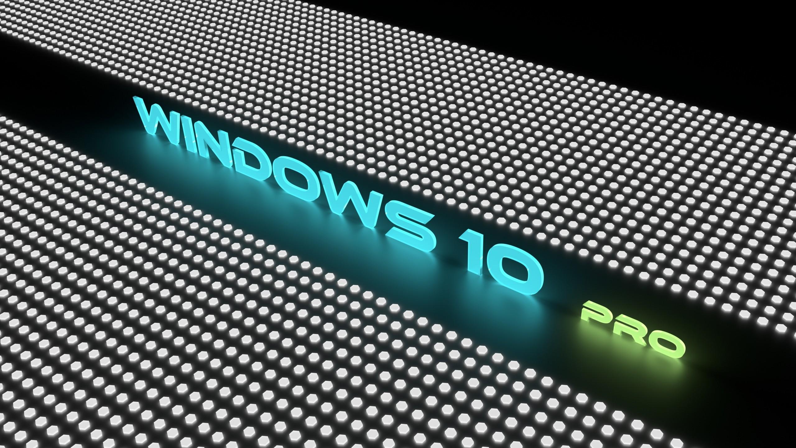 Technology / Windows 10 Pro Wallpaper