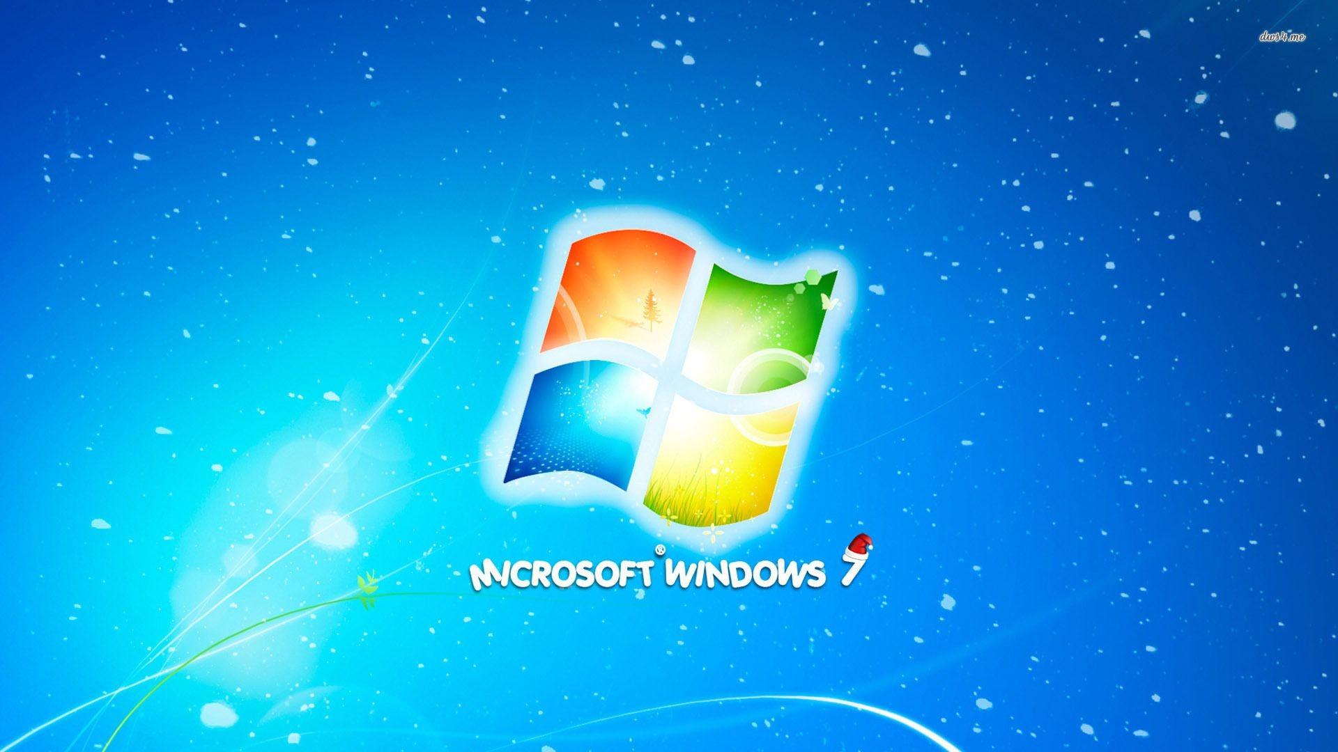 Microsoft Windows 7 Merry Christmas wallpaper – Computer .
