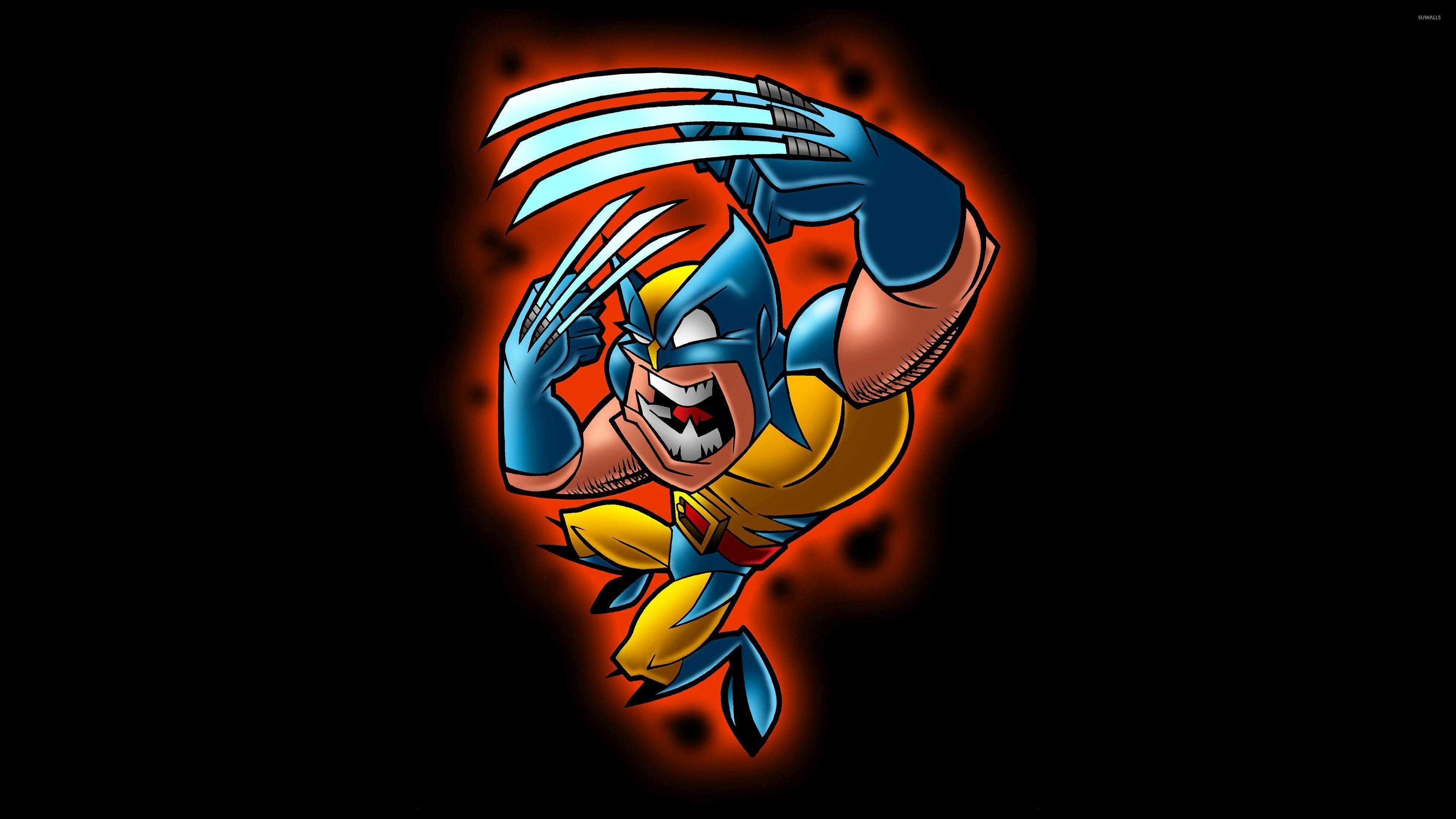 Funny Wolverine wallpaper jpg