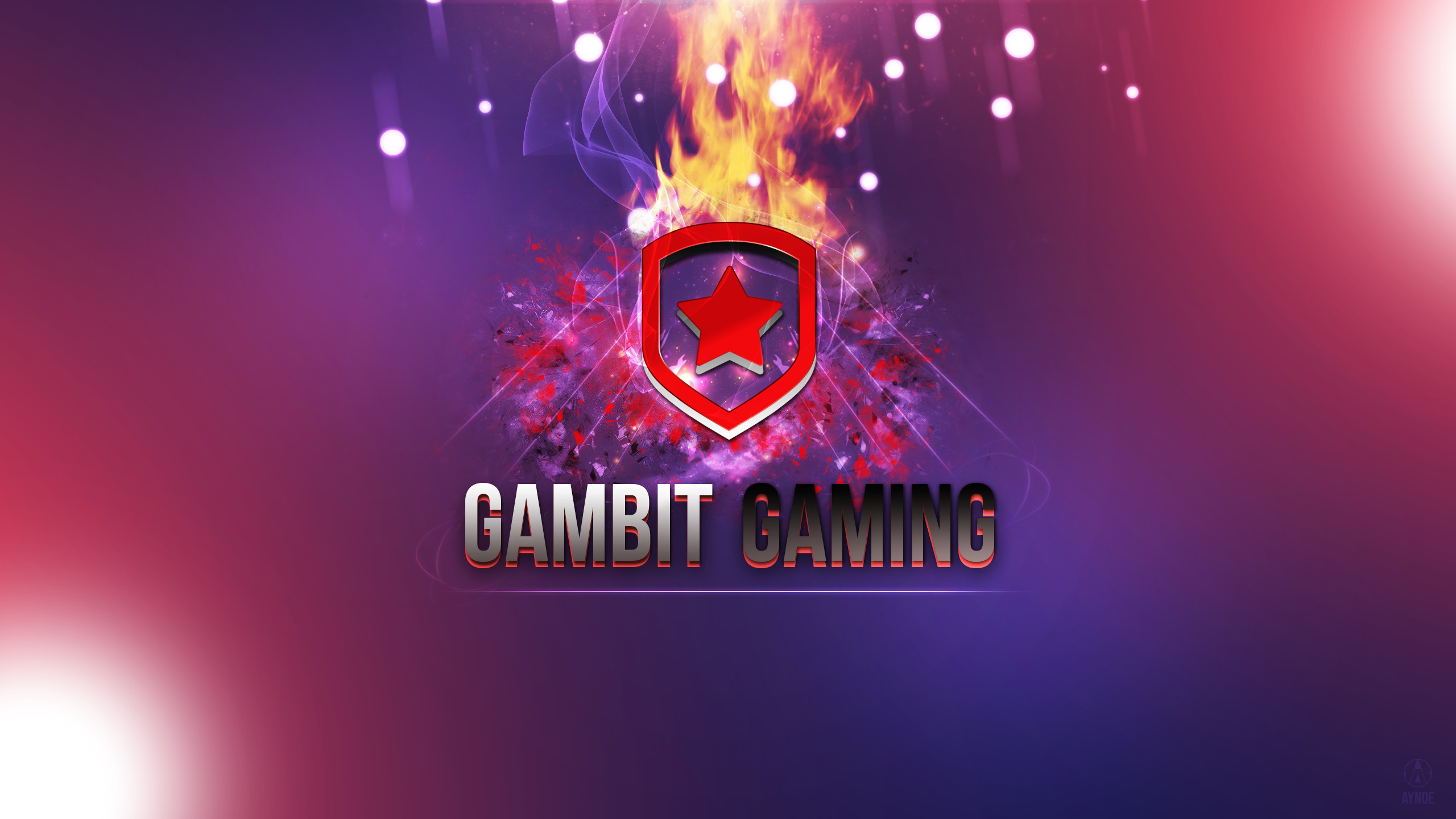 … Gambit Gaming 2 Wallpaper Logo – League of Legends by Aynoe