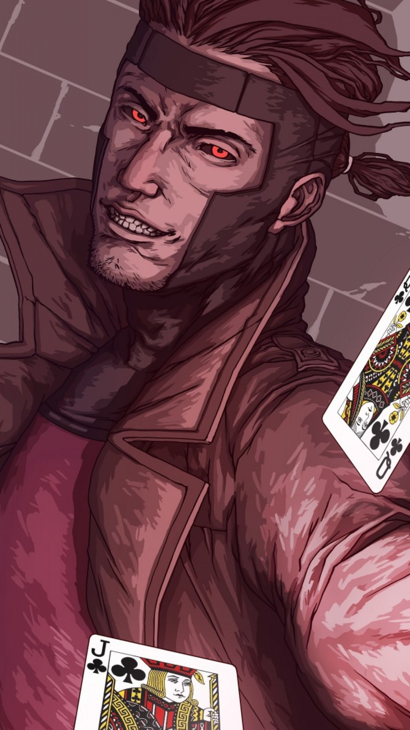 Wallpaper x-men, gambit, marvel comics, art, mutant