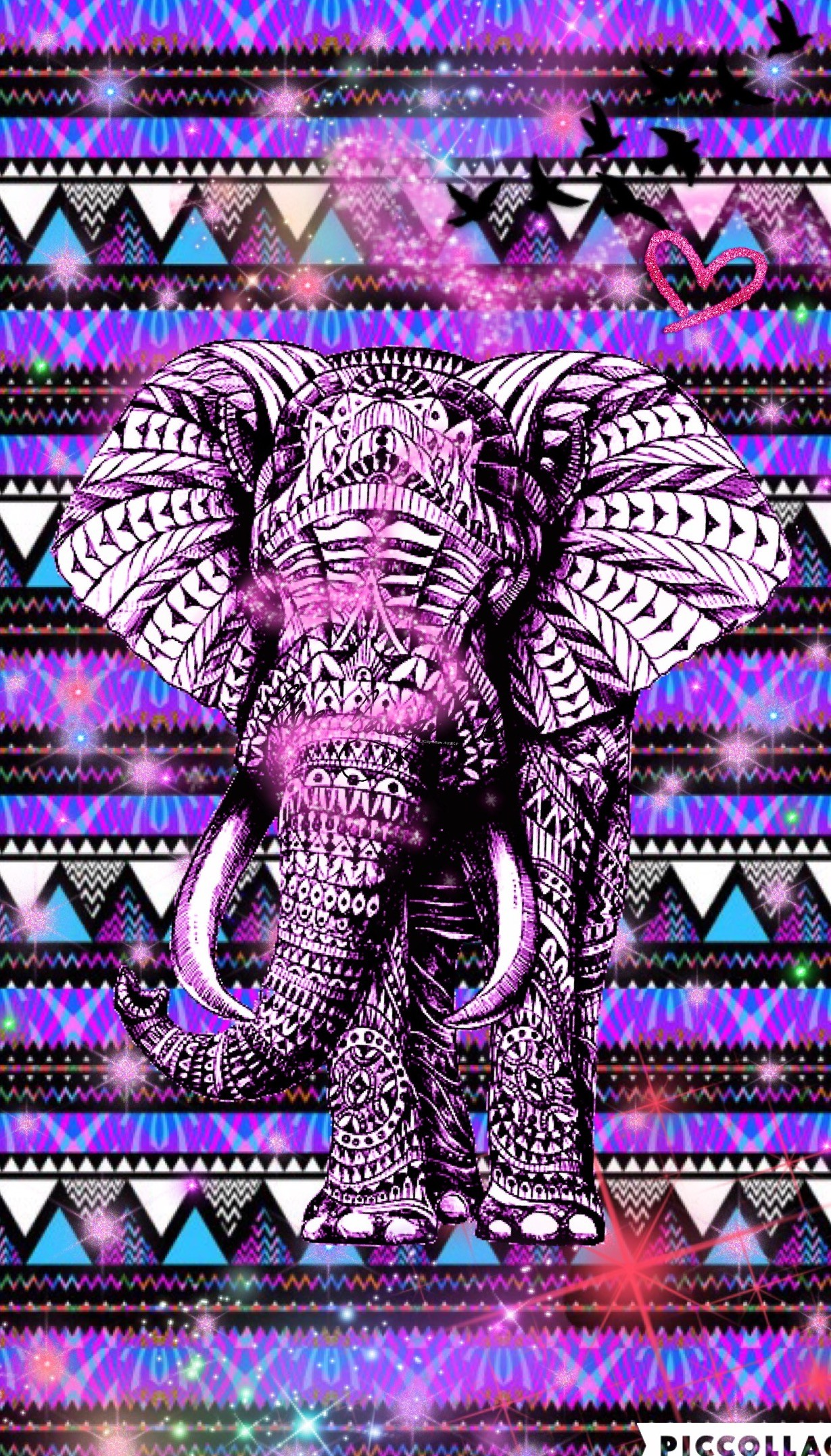 Hispter cute girly elephant create by Rose. Cell Phone WallpapersPhone  BackgroundsIphone …