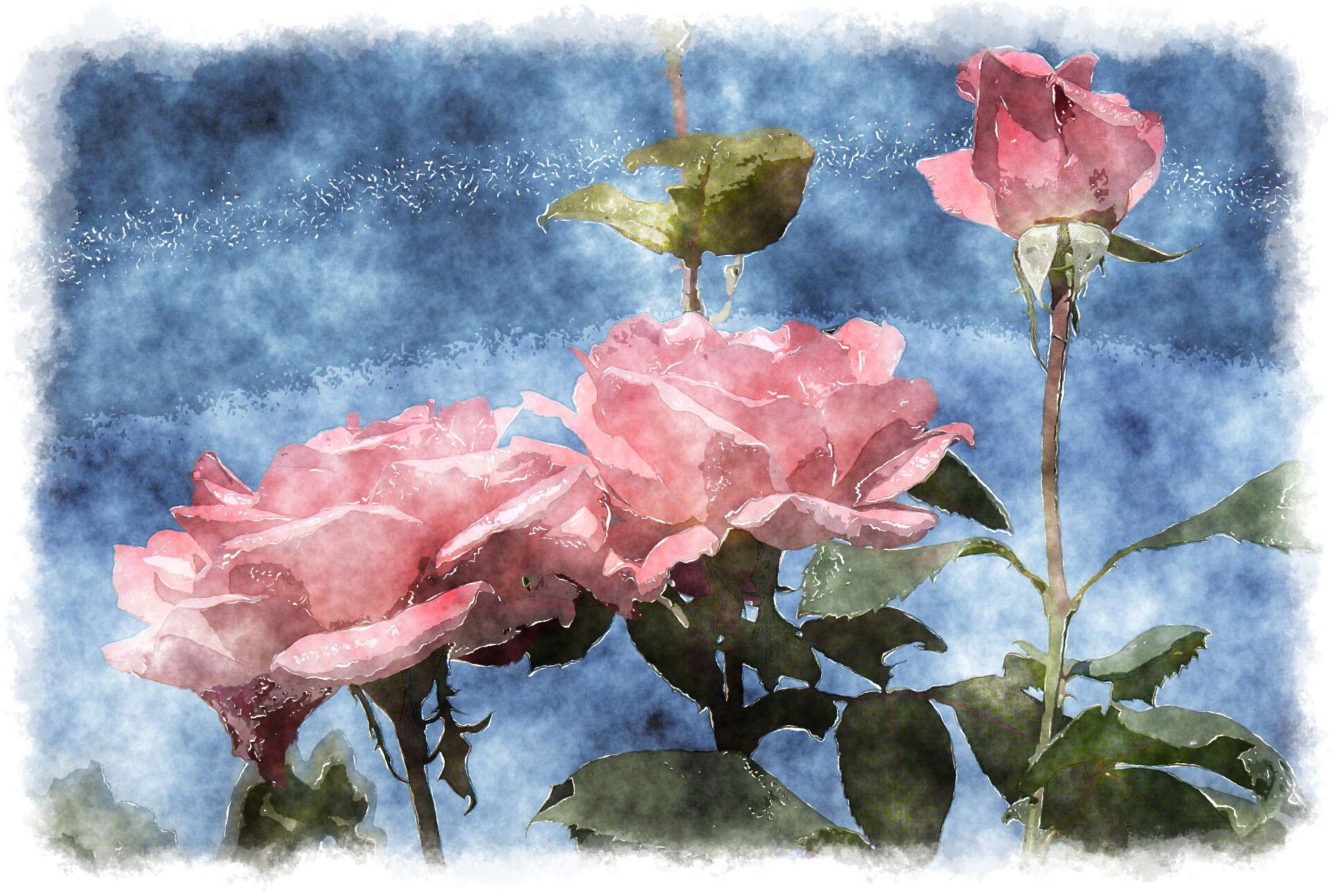 Watercolor Iphone Wallpaper Blue | Top Pictures Gallery Online