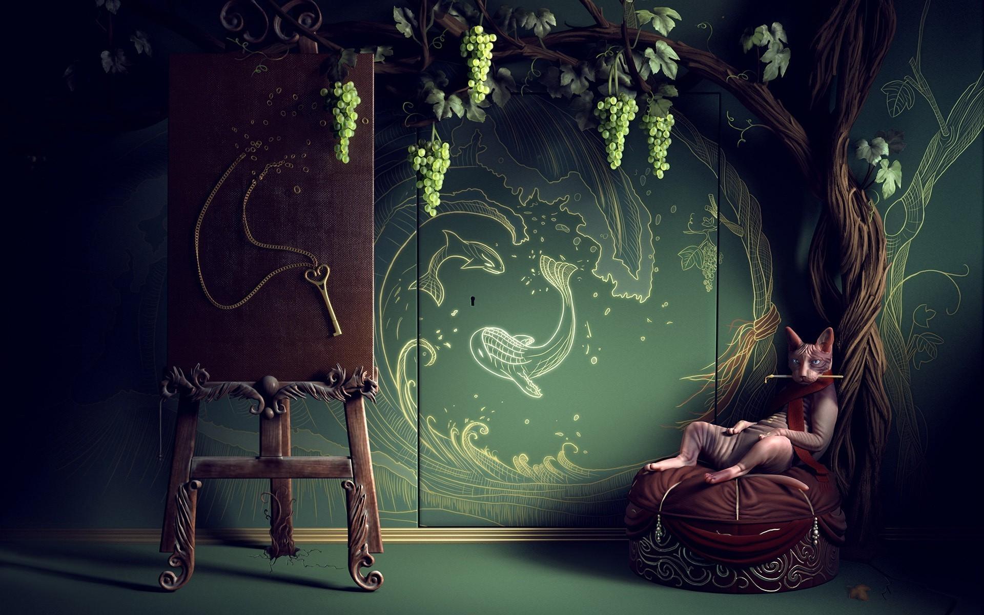 Bohemian Pattern Wallpaper Wallpaper bohemian painter
