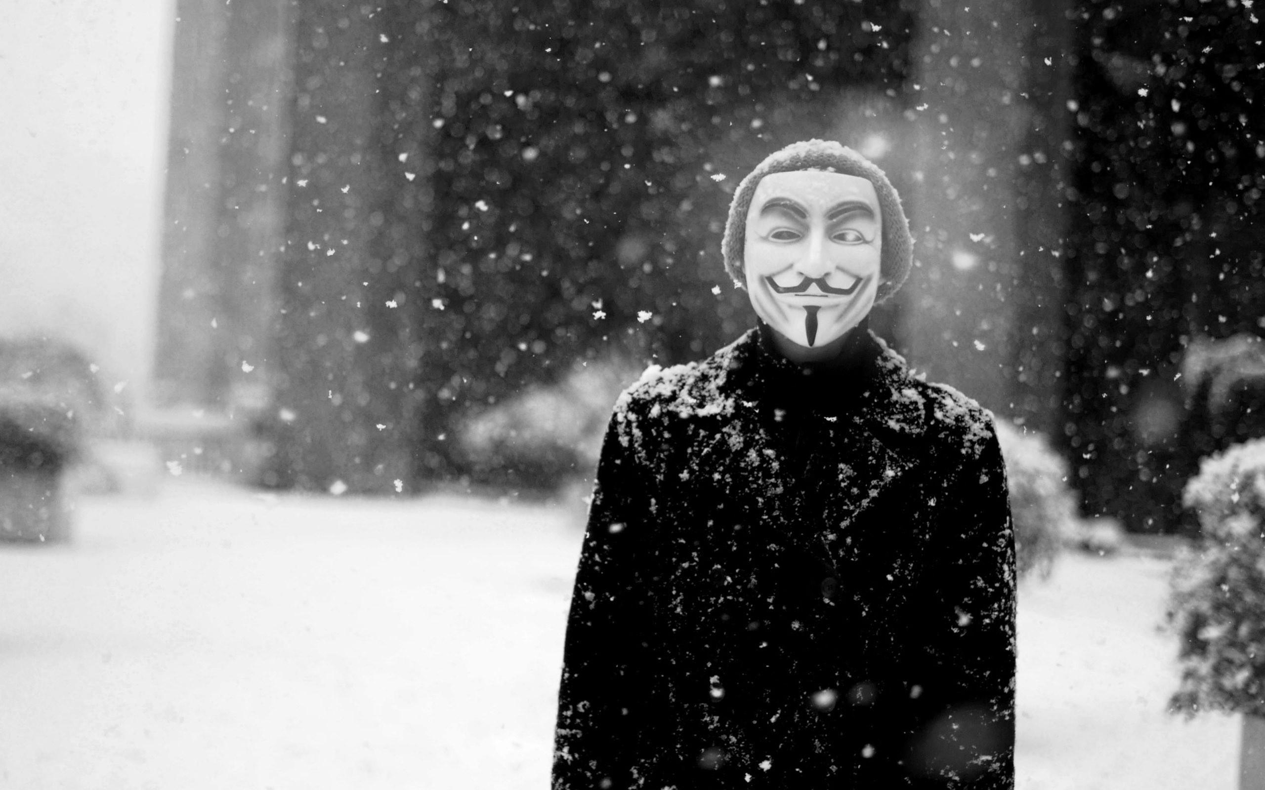 … Anonymous HD Wallpaper 2560×1600