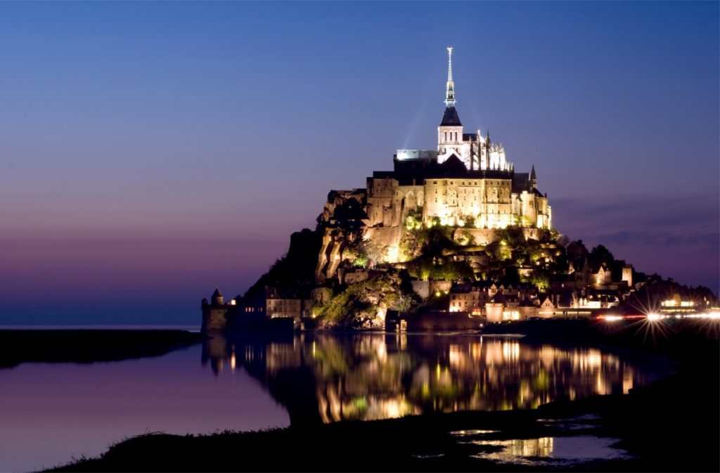 france normandy mont saint-michel island castle france normandy mont -saint- michel island