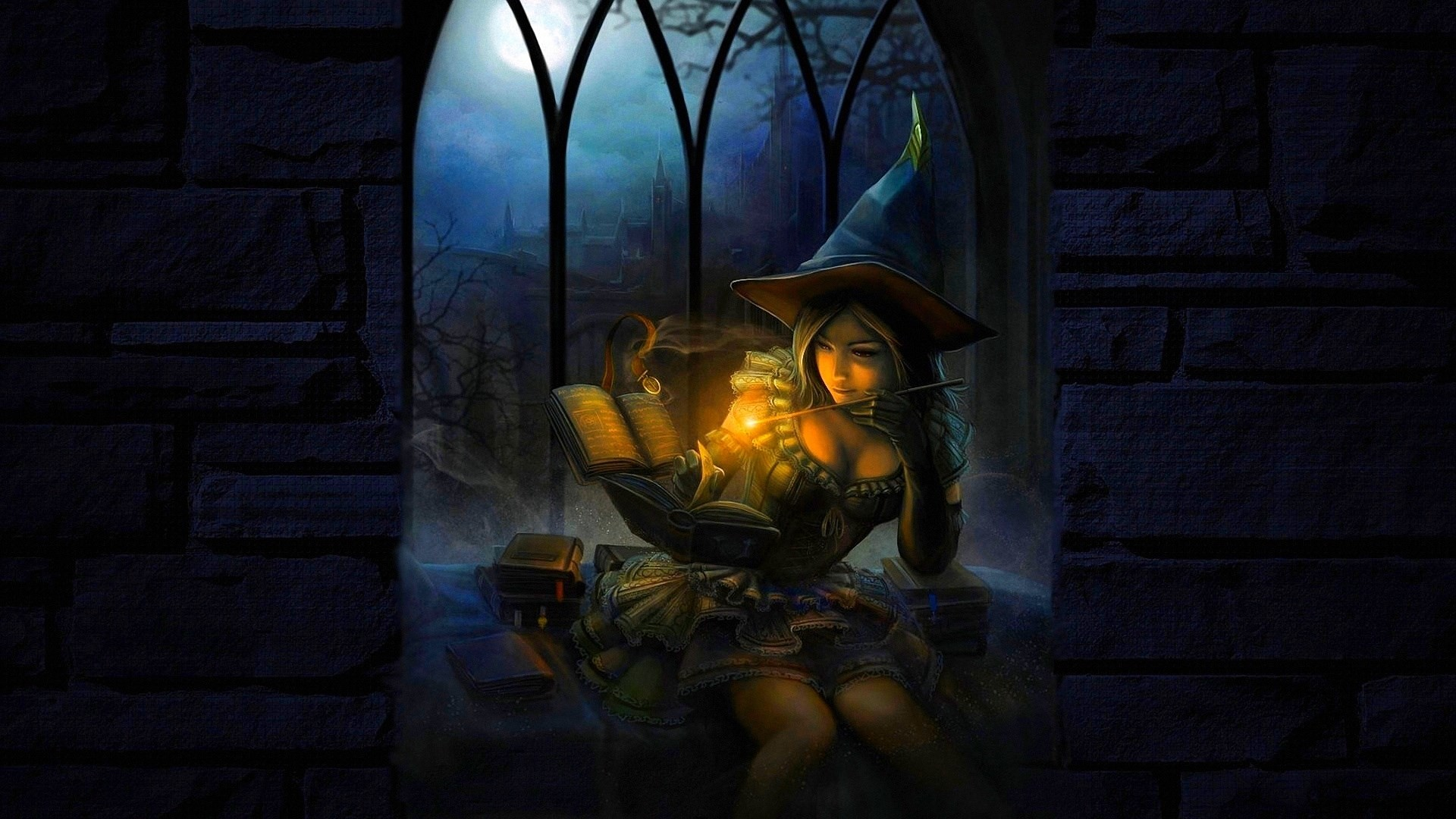 #1409307, witch category – Widescreen Wallpapers: witch picture