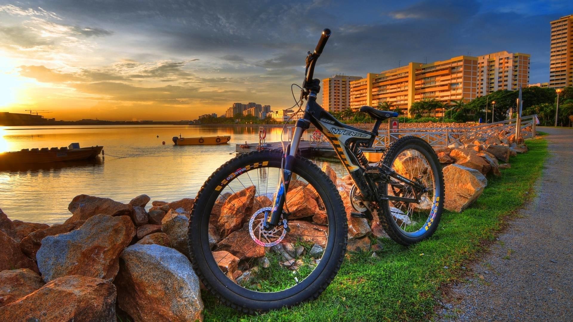 Natural 3D Bicycle HD Wallpaper 1080p #1802 Wallpaper | AWS HD .
