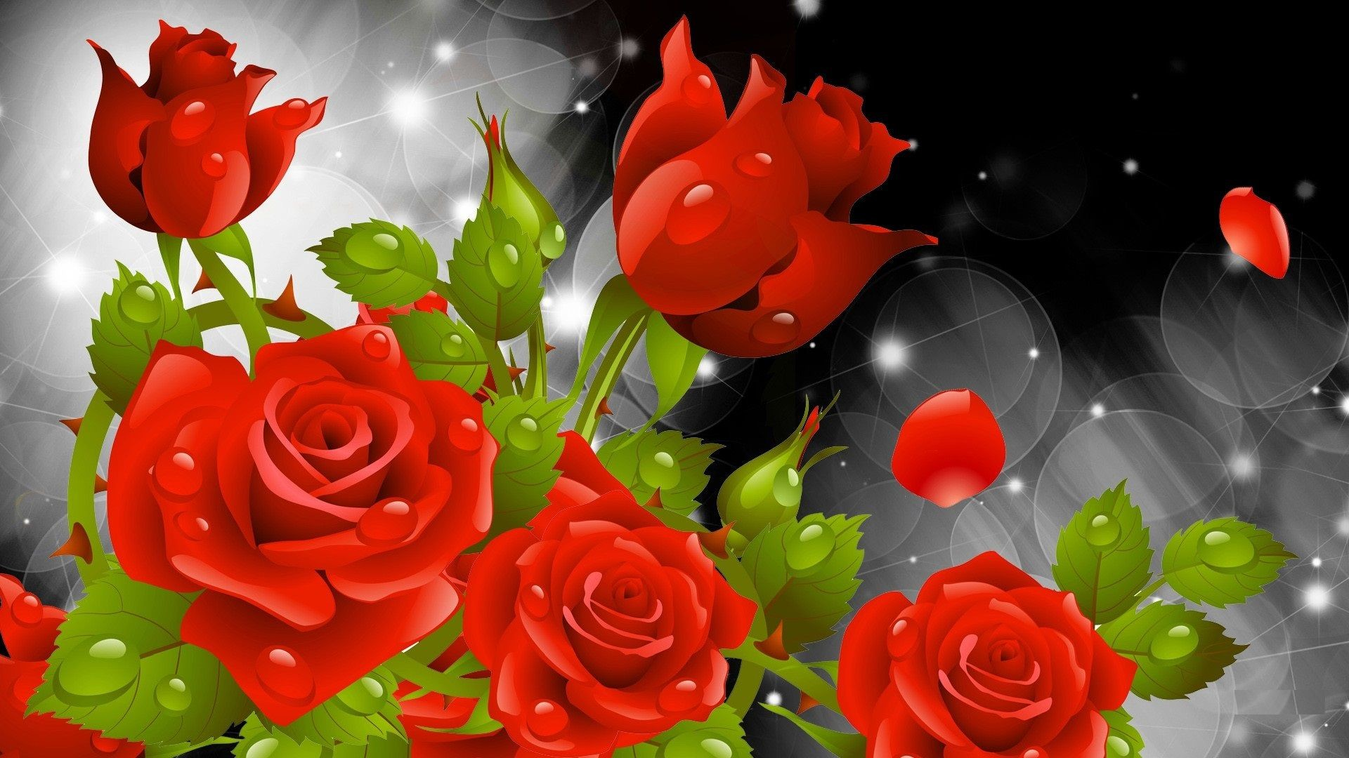 3d 1080p Flowers Wallpapers HD images