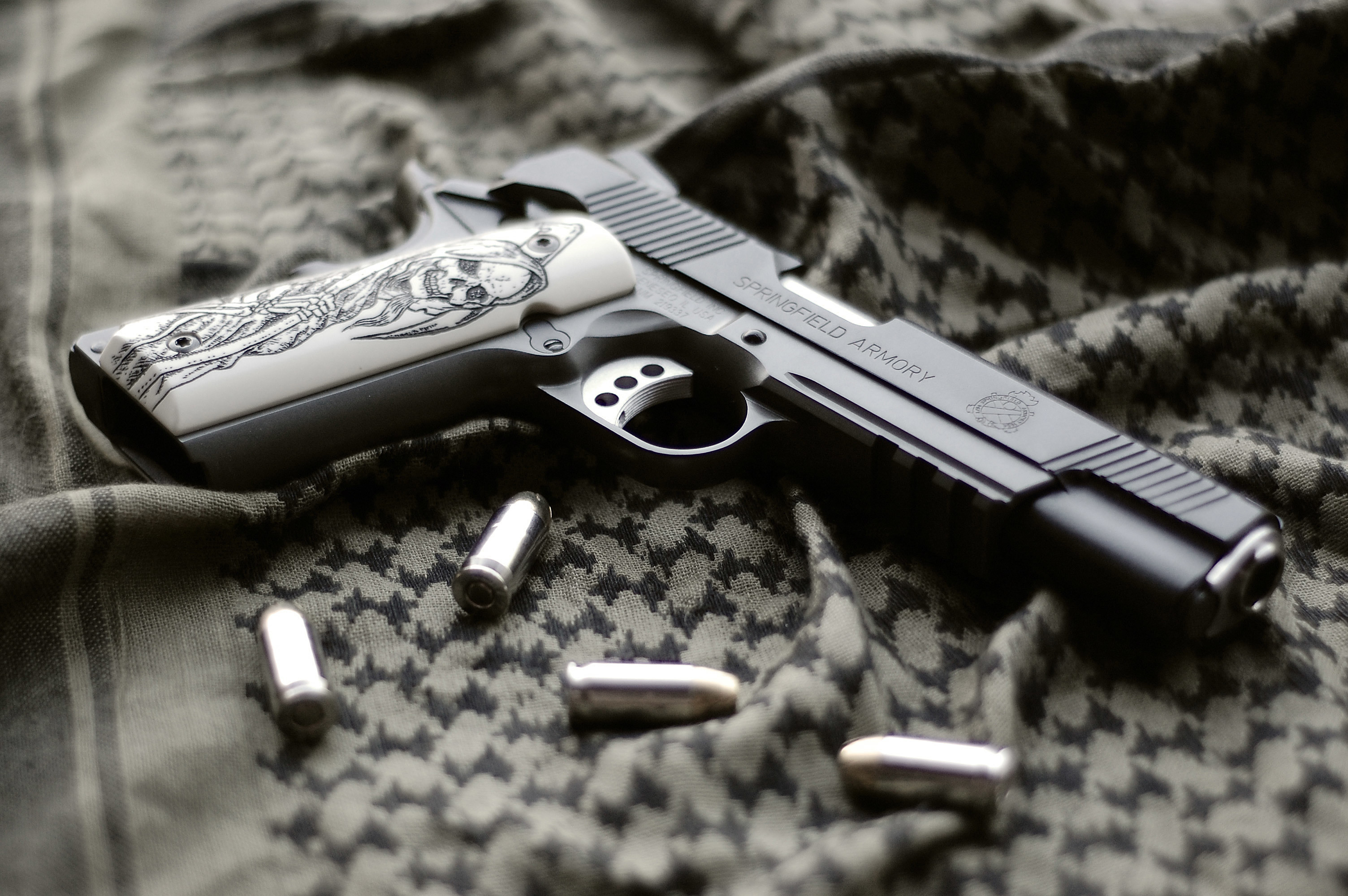 HD Wallpaper   Background ID:633414. Weapons Springfield Armory  pistol