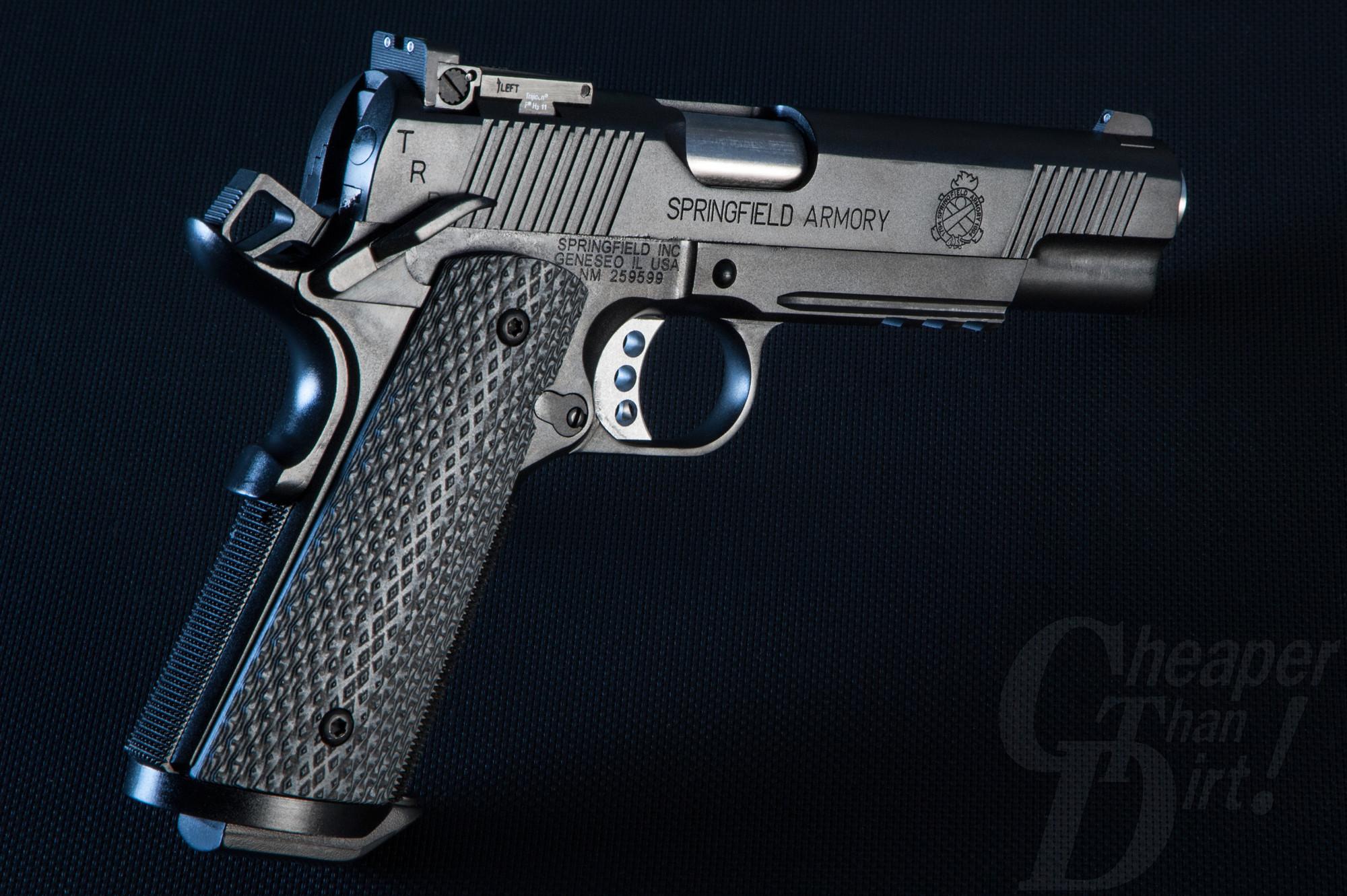 Art of the Gun: The Springfield Armory Tactical Response Pistol .45 ACP