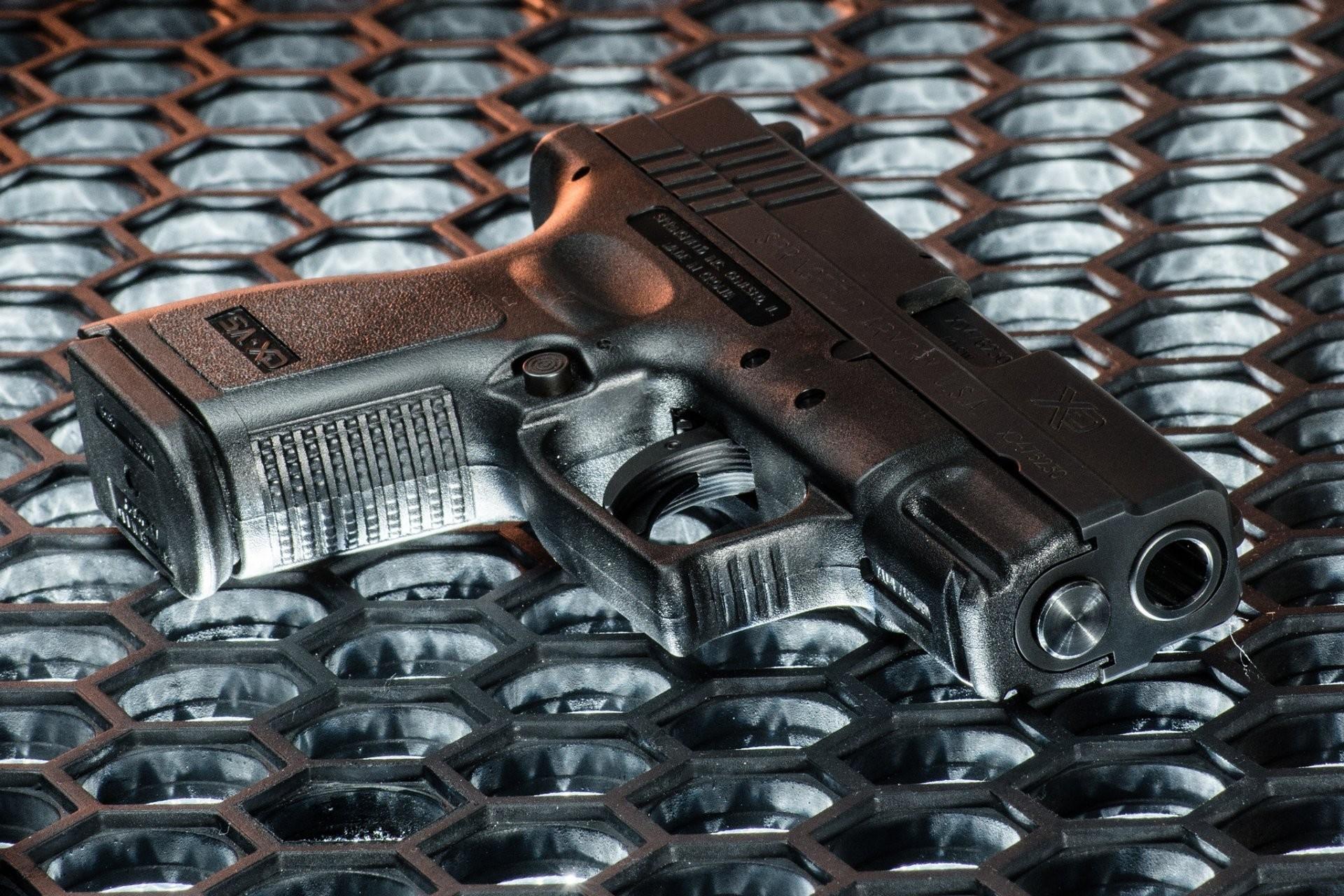 springfield armory semi-automatic gun weapon