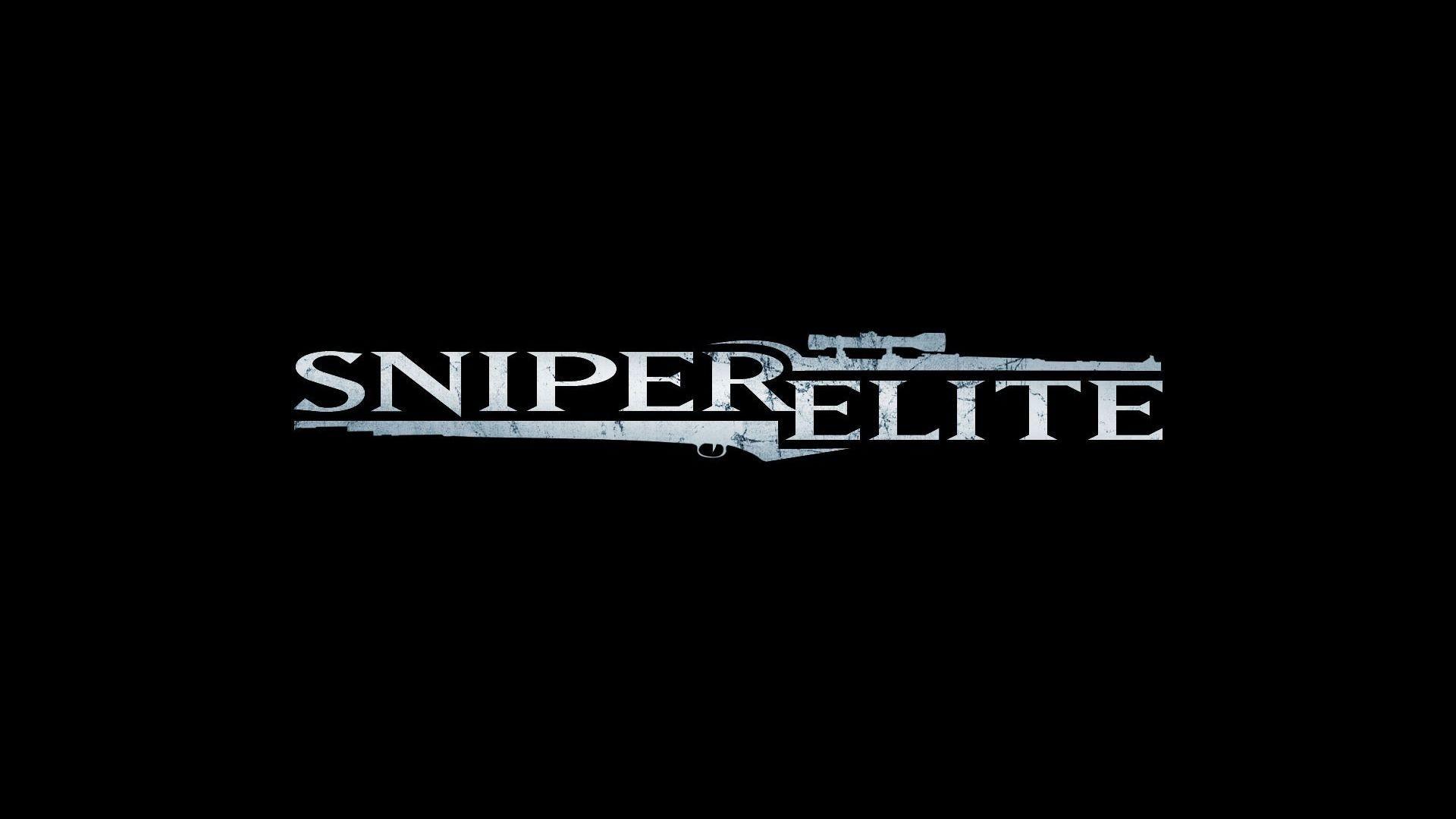 sniper elite logo wallpaper