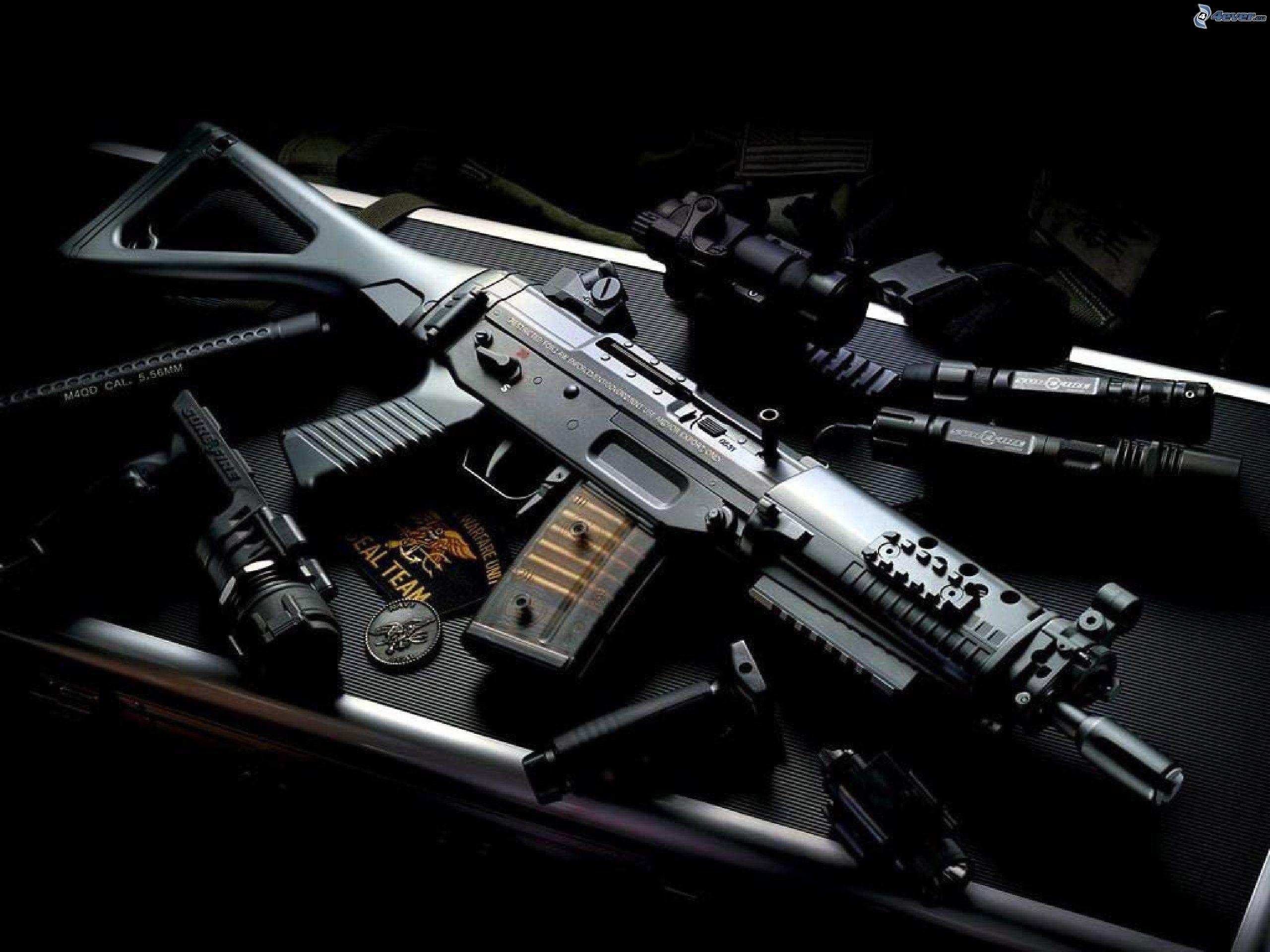 Heckler & Koch G36 weapon gun military rifle rh wallpaper .