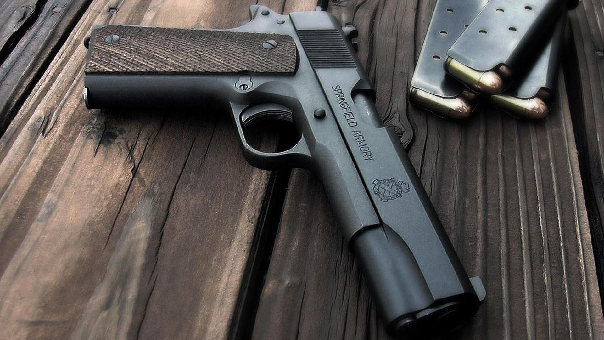 Awesome Guns Wallpaper