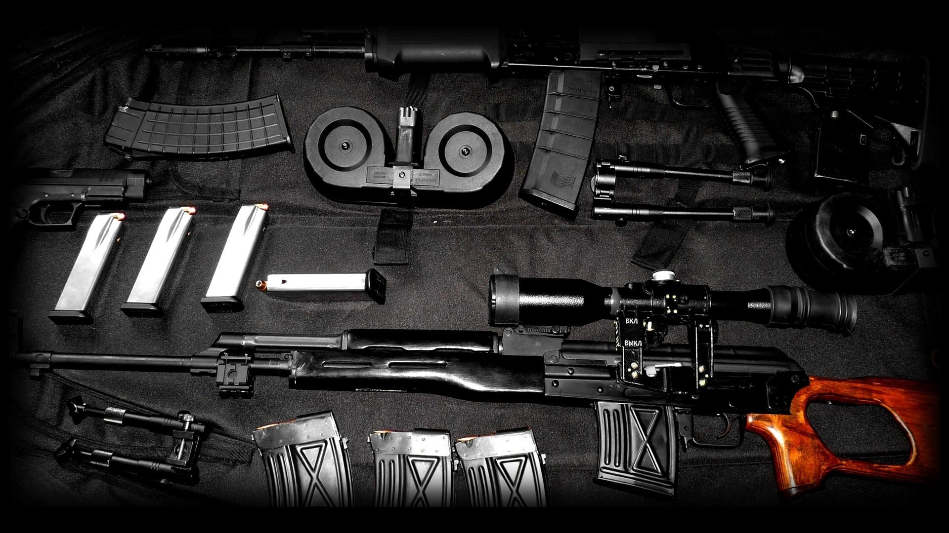 AK 47 Gun HD Wallpaper