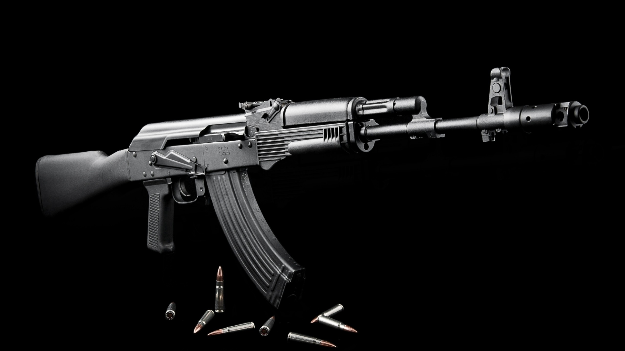 Wallpaper exp 01, civilian version, ak-103, m3, weapons,