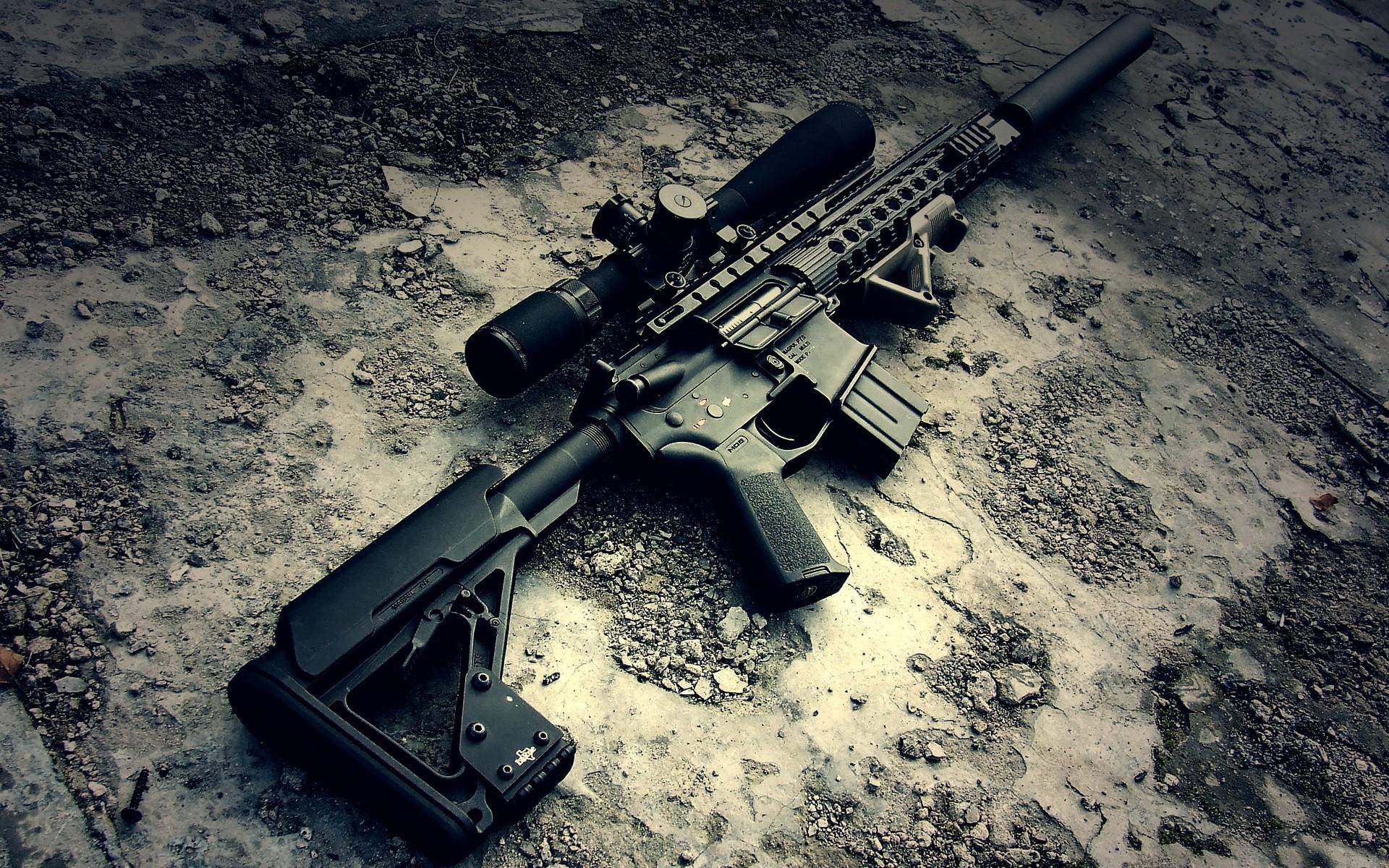 Assault Rifle for Airsoft, airsoft, gray, gun, military, rifle