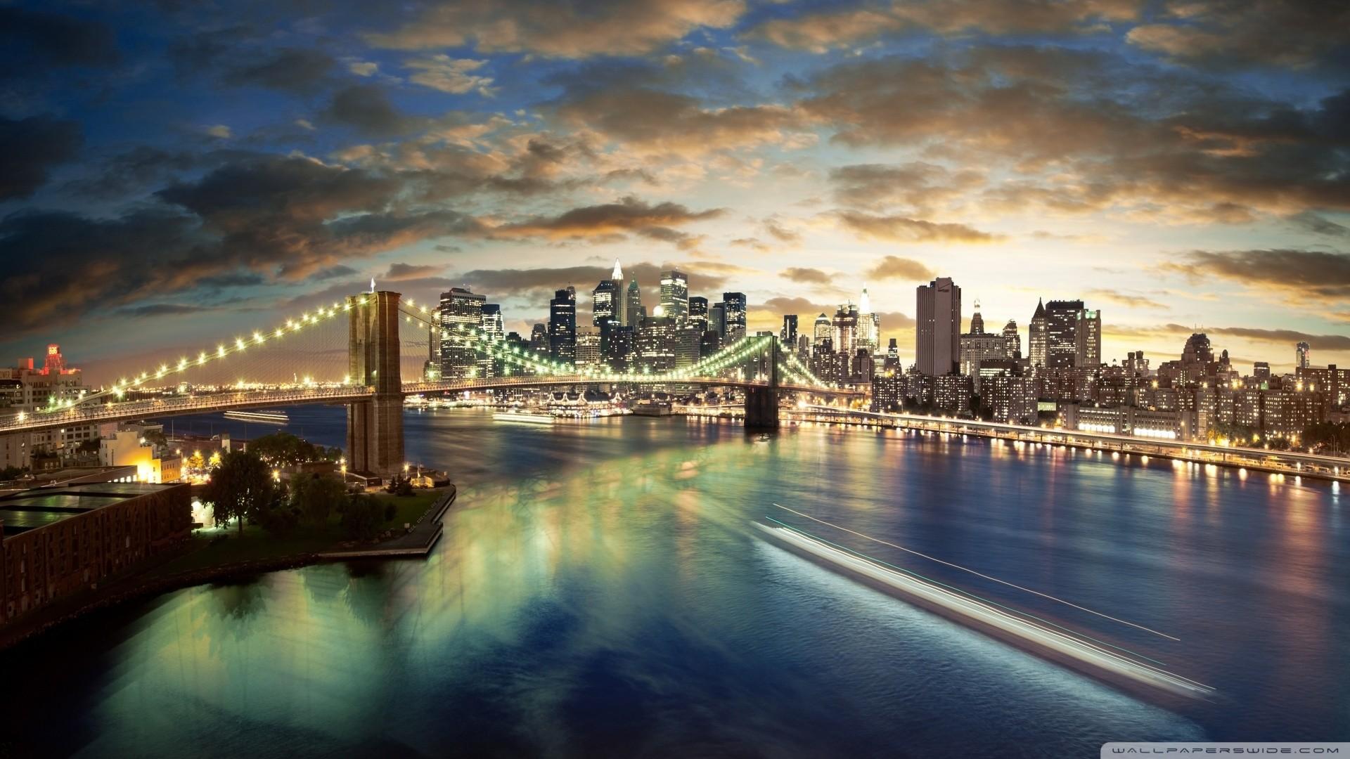 City Desktop Backgrounds 1920×1080
