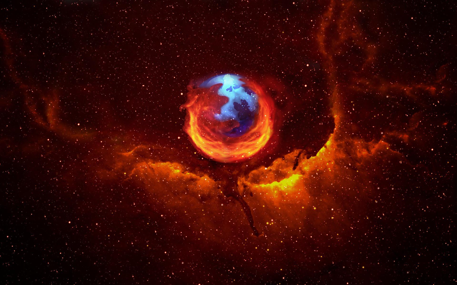 Download the FireFox Nebula Wallapper …