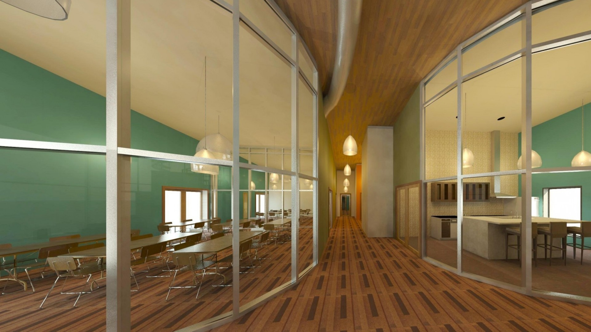 Preview wallpaper interior, style, design, home, public space, dining room,