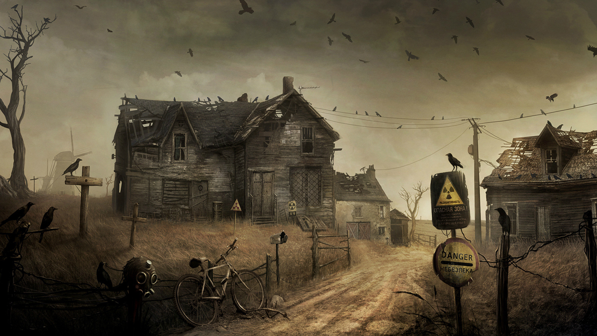 After Apocalypse Dark House Wallpapers HD / Desktop and Mobile Backgrounds