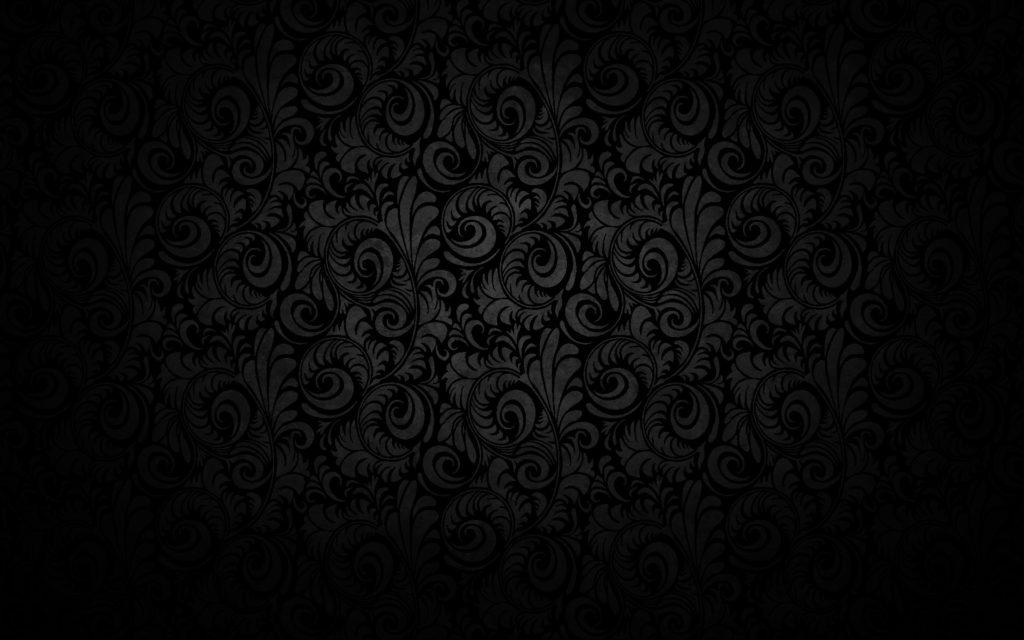Black Floral Texture Pattern Design Wallpaper #341 |  hdewallpaper.com