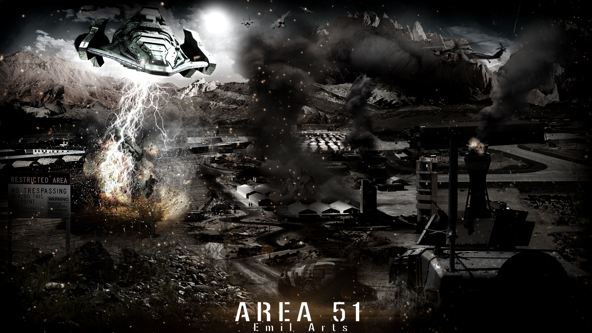 Area 51 Wallpapers