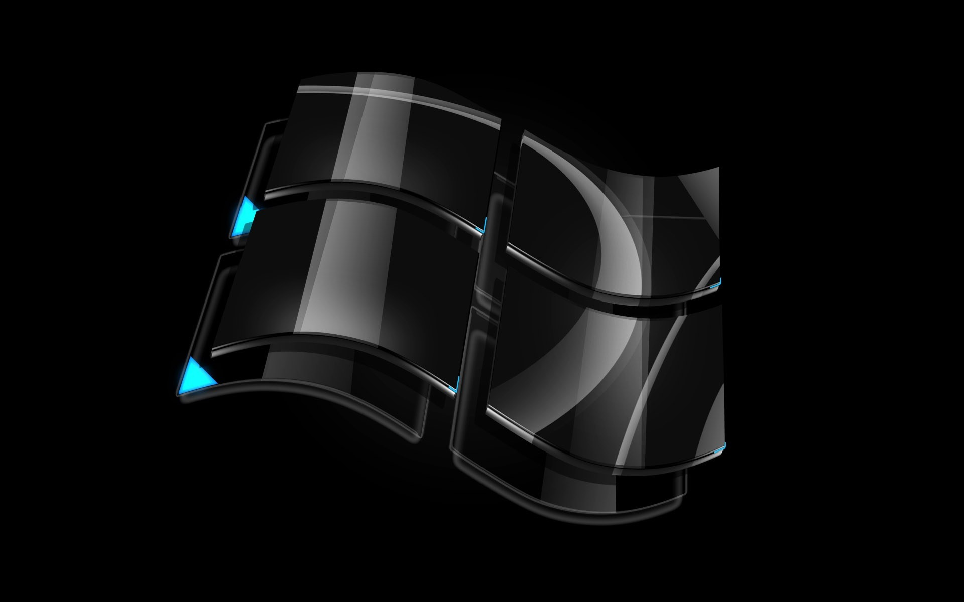 Windows Dark Glass Logo
