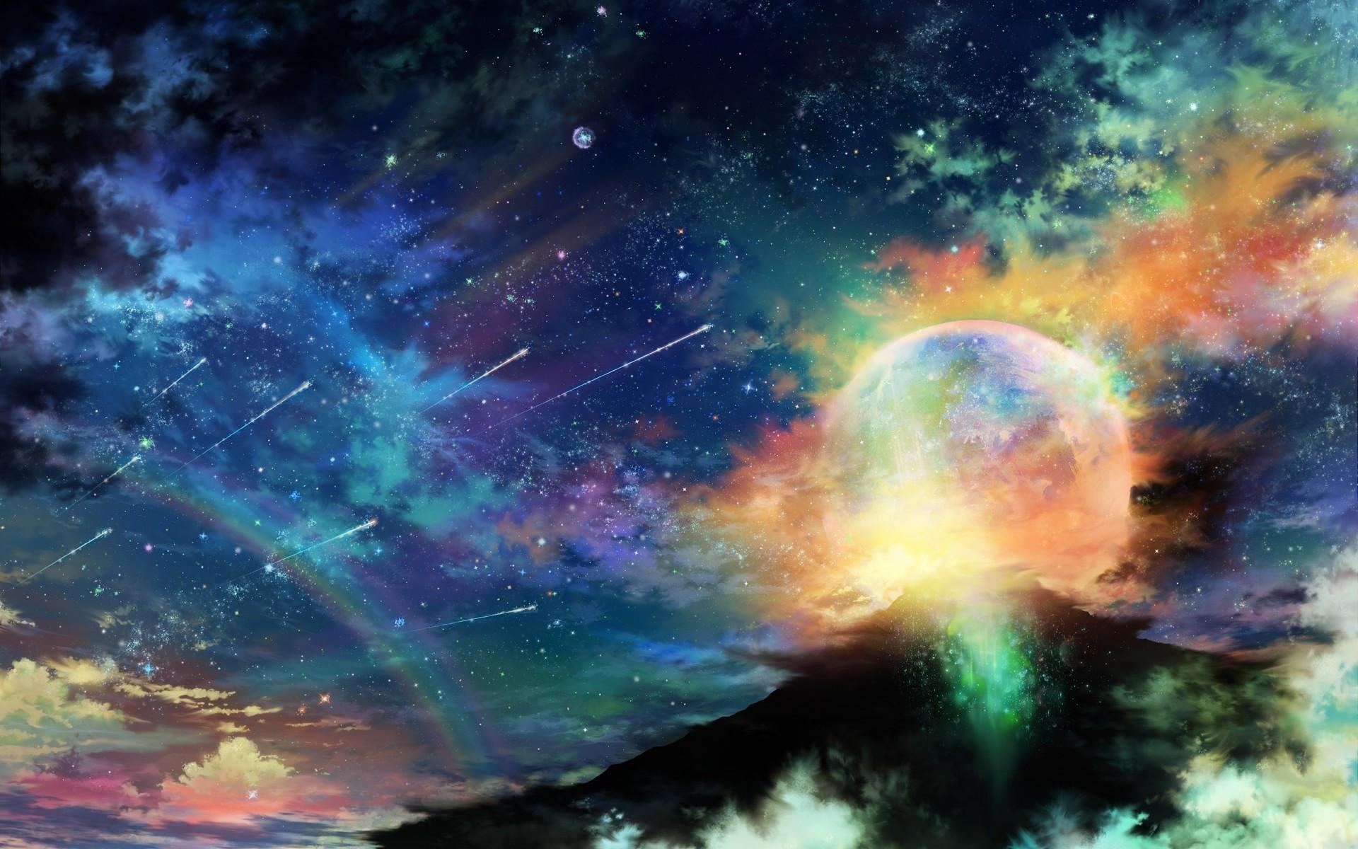 Colorful Galaxy Wallpaper …