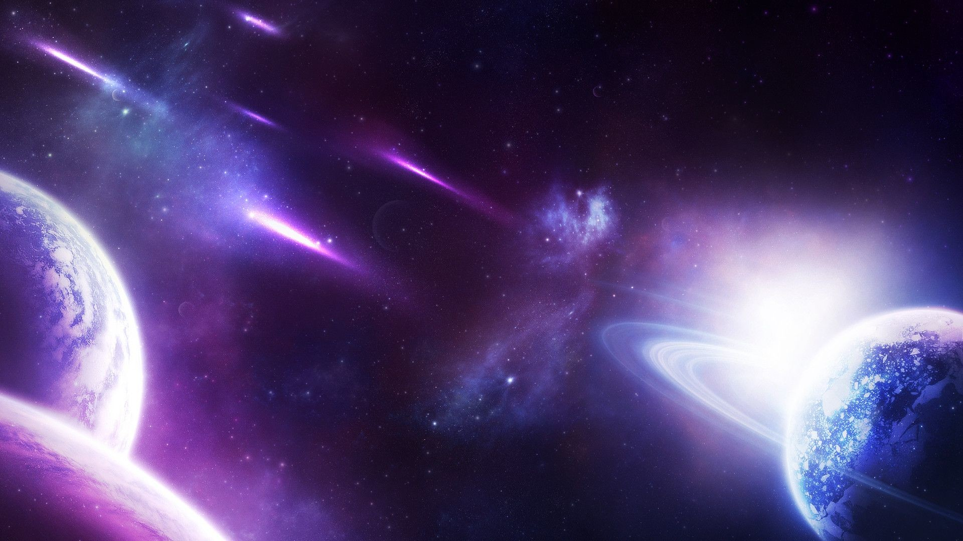 Purple Galaxy Wallpaper Photo …