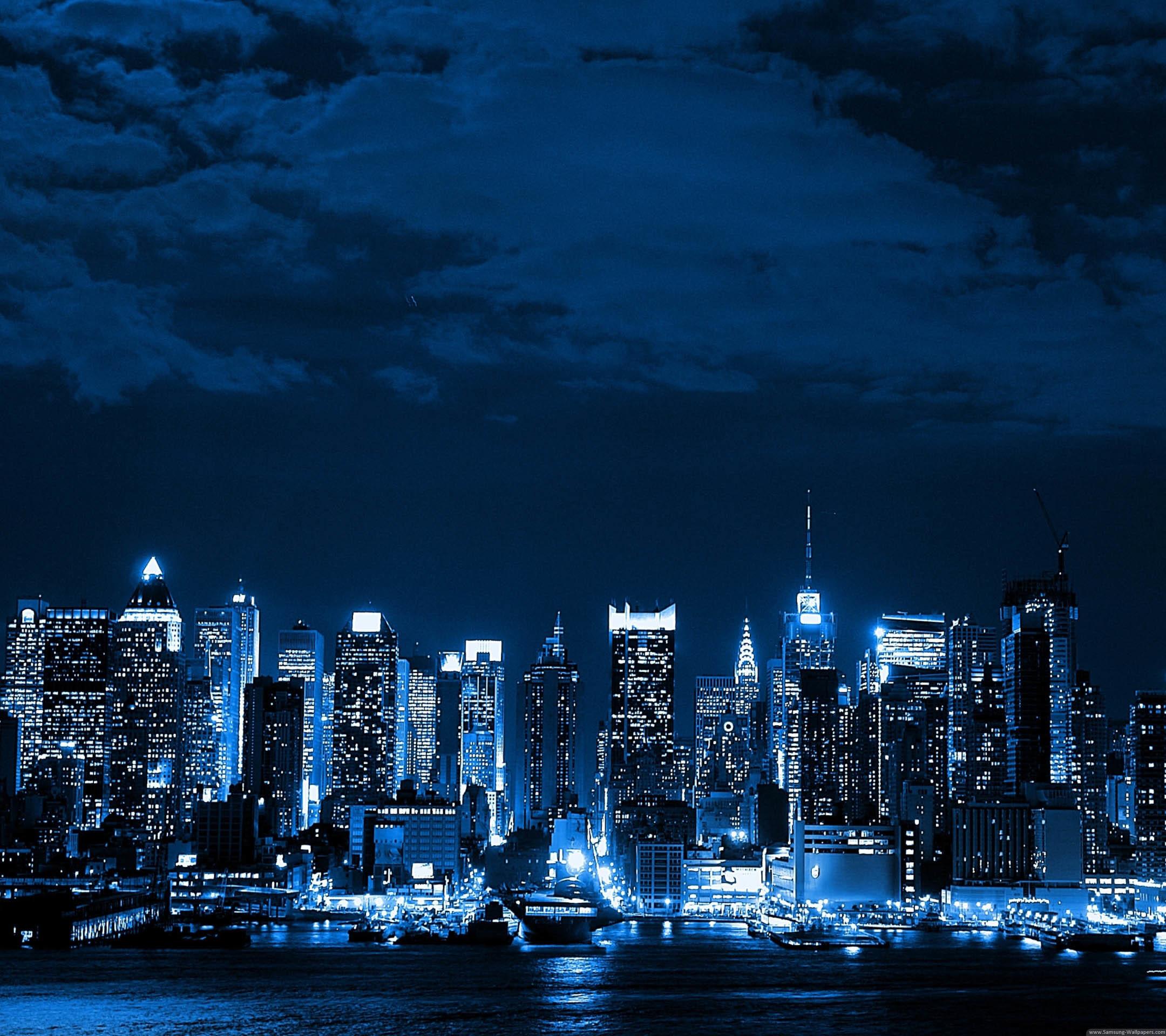 City Night Desktop for Galaxy Note 3 Wallpaper HD
