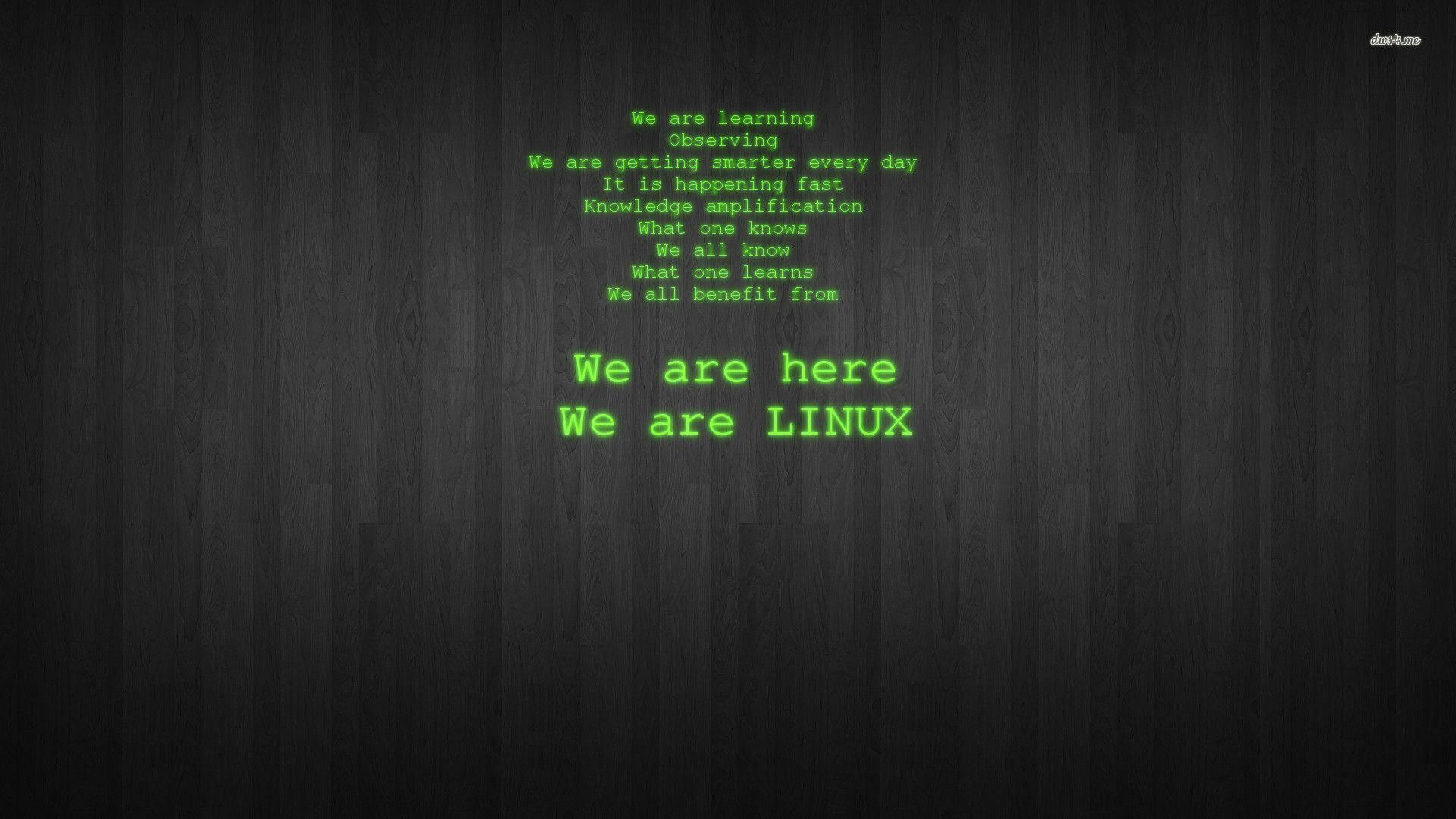 Images For > Linux Wallpaper 1920×1080